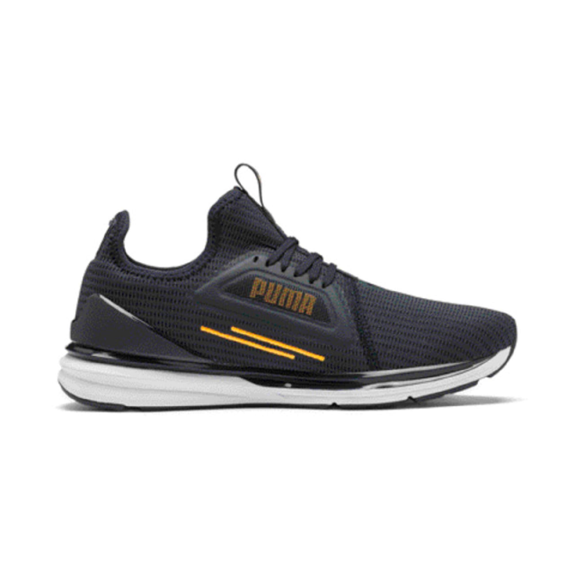 Thumbnail 5 of IGNITE Limitless Lean Running Shoes, Peacoat-Orange Alert, medium-IND