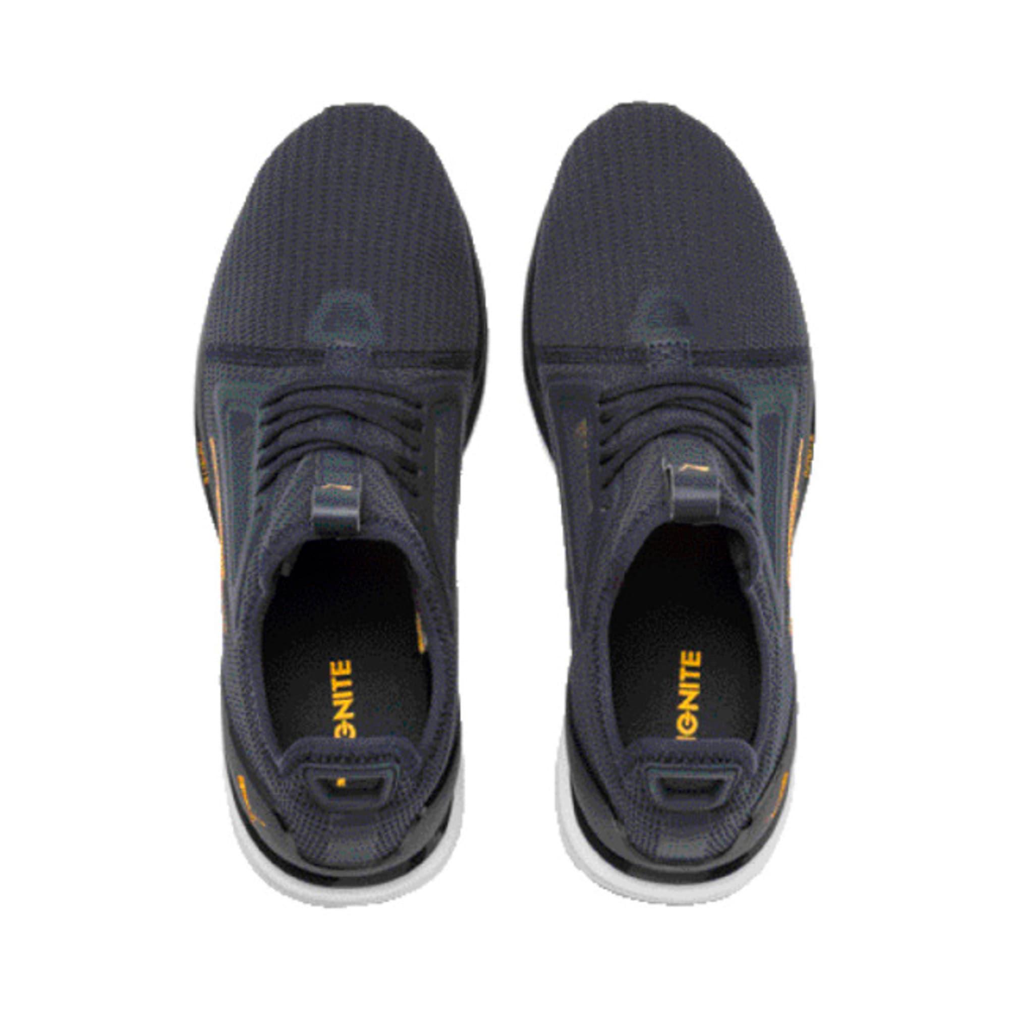 Thumbnail 4 of IGNITE Limitless Lean Running Shoes, Peacoat-Orange Alert, medium-IND