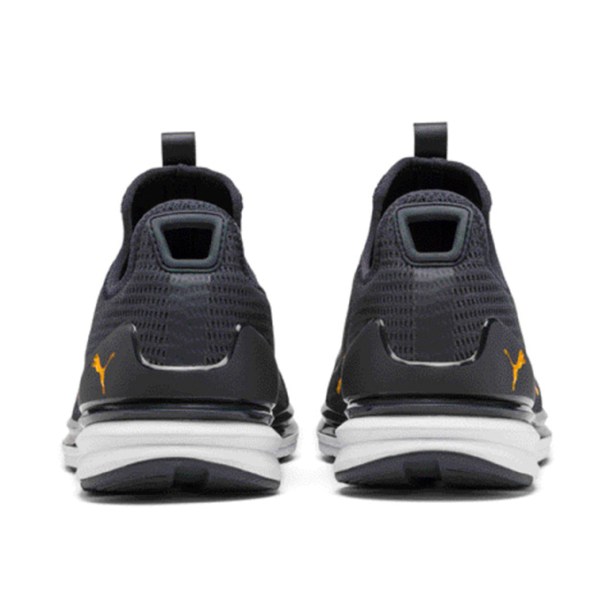Thumbnail 6 of IGNITE Limitless Lean Running Shoes, Peacoat-Orange Alert, medium-IND