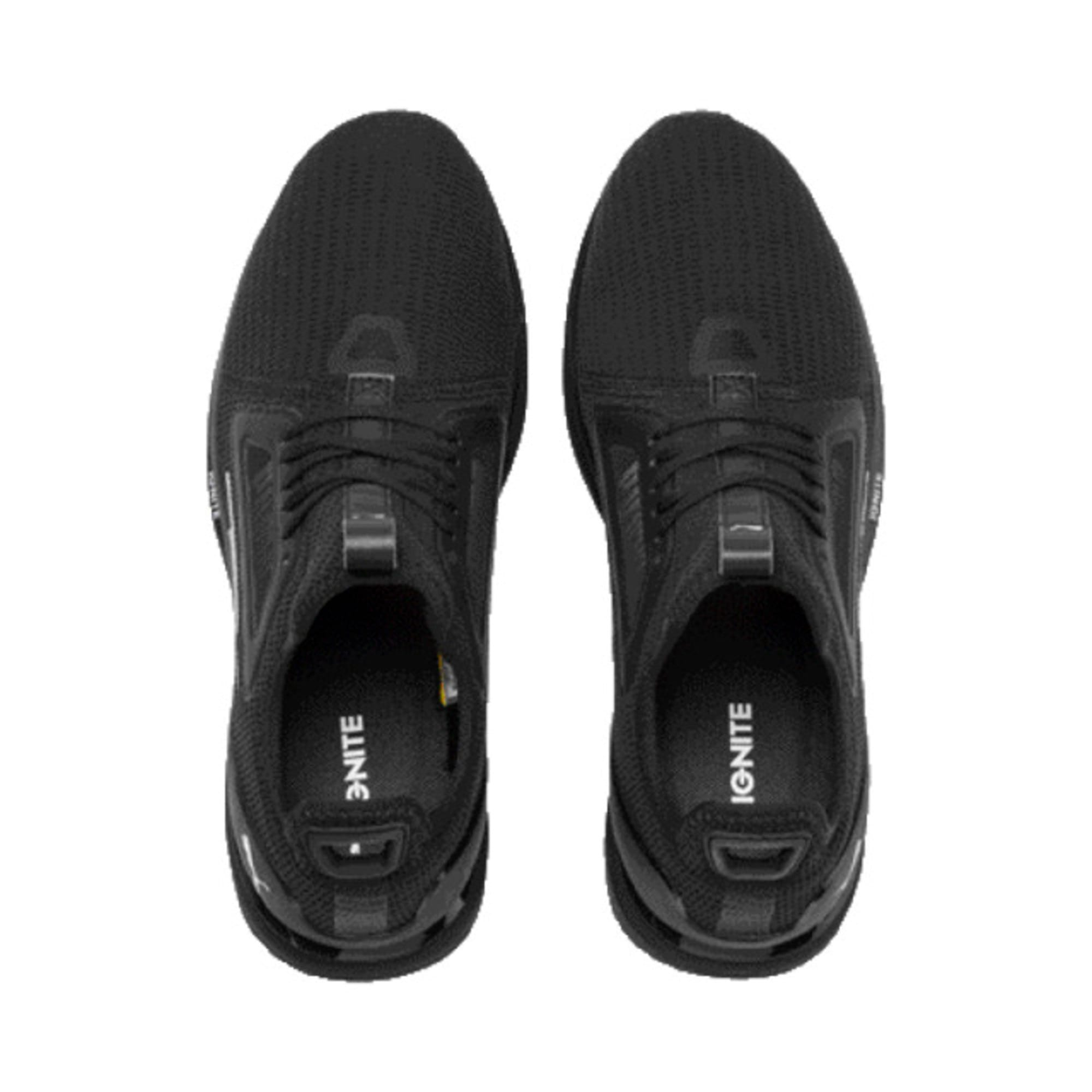 IGNITE Limitless Lean Running Shoes, Puma Black-Puma White, large-IND