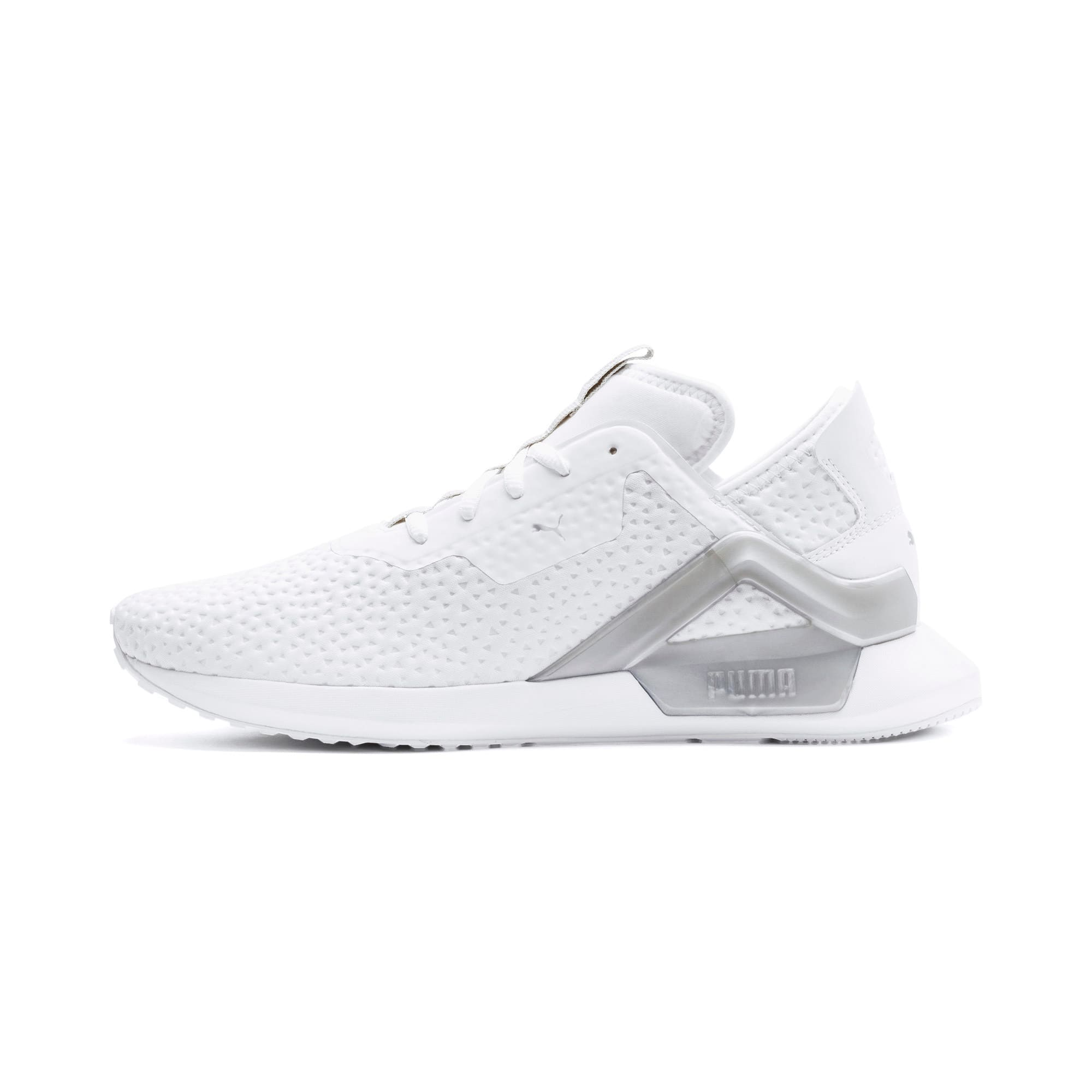 Thumbnail 1 of Rogue X Metallic Herren Sneaker, Puma White-Puma Silver, medium