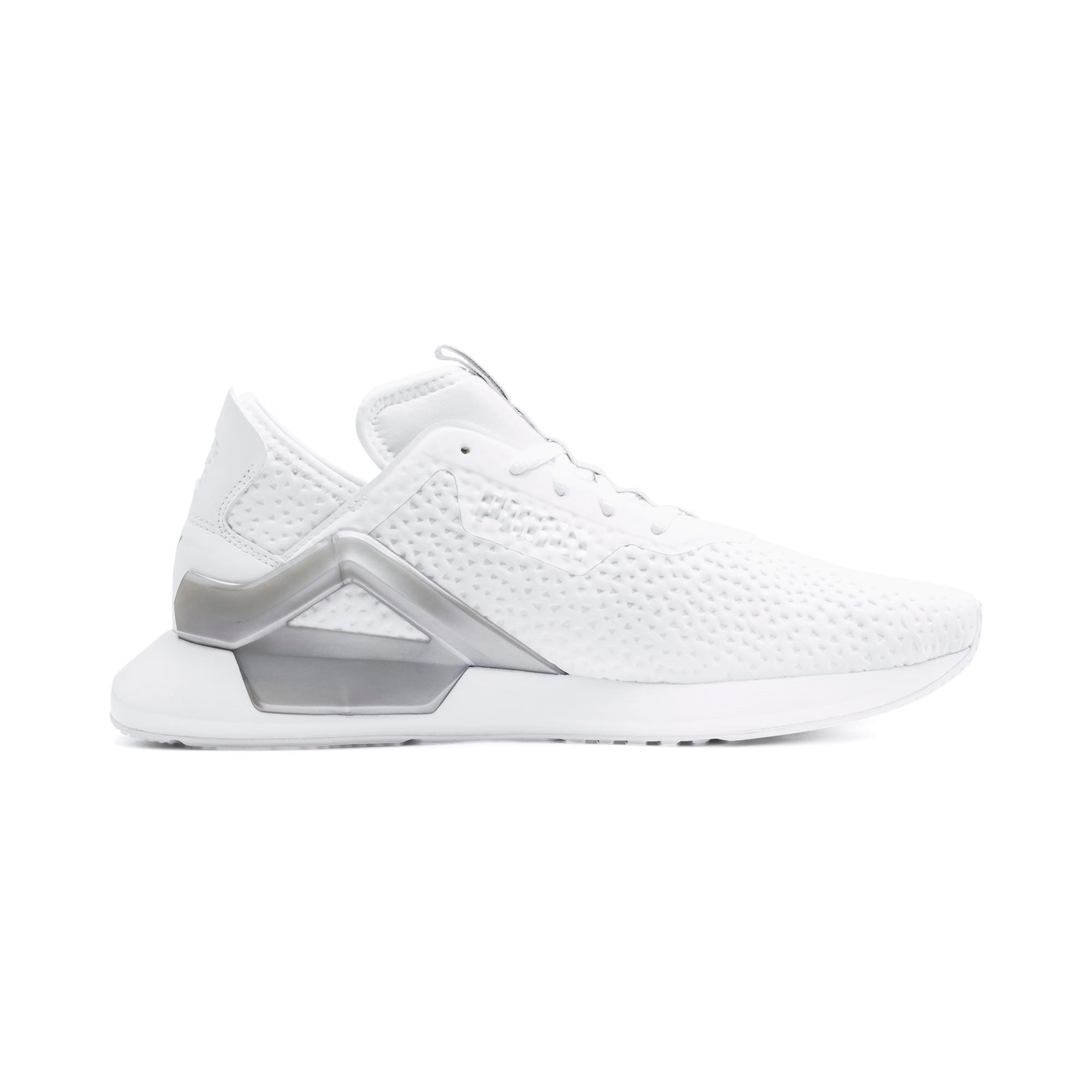Thumbnail 6 of Rogue X Metallic Herren Sneaker, Puma White-Puma Silver, medium