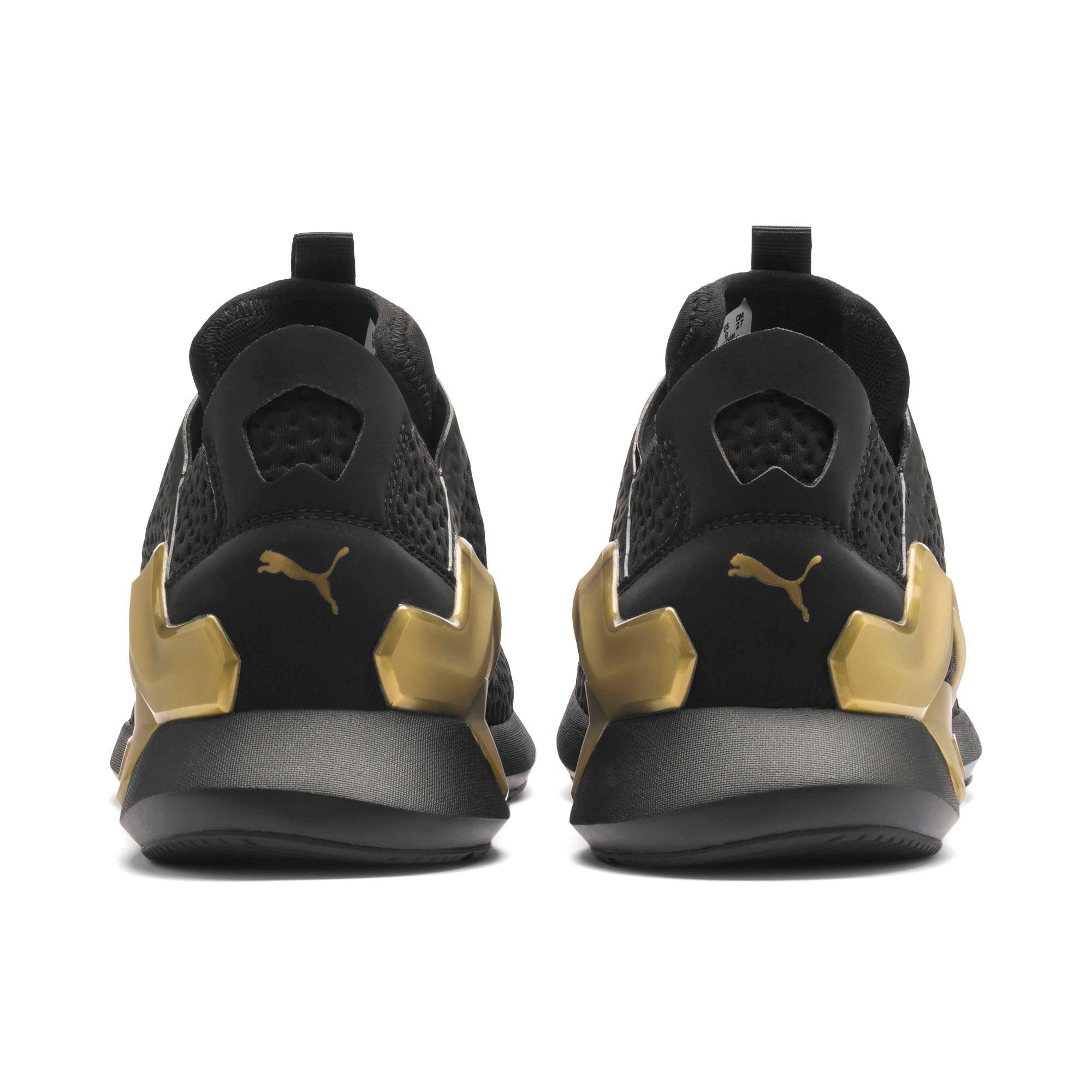Thumbnail 4 of Rogue X Metallic Herren Sneaker, Puma Black-Gold, medium