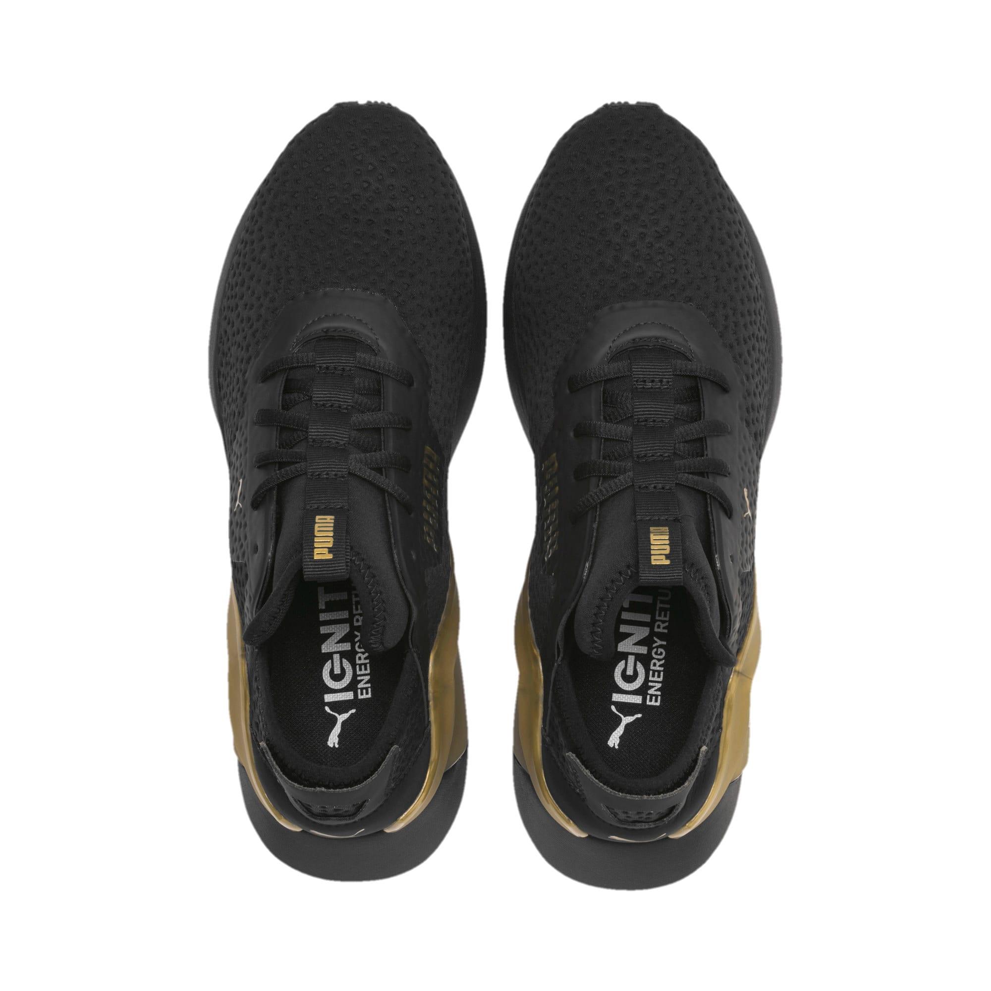 Thumbnail 7 of Rogue X Metallic Herren Sneaker, Puma Black-Gold, medium