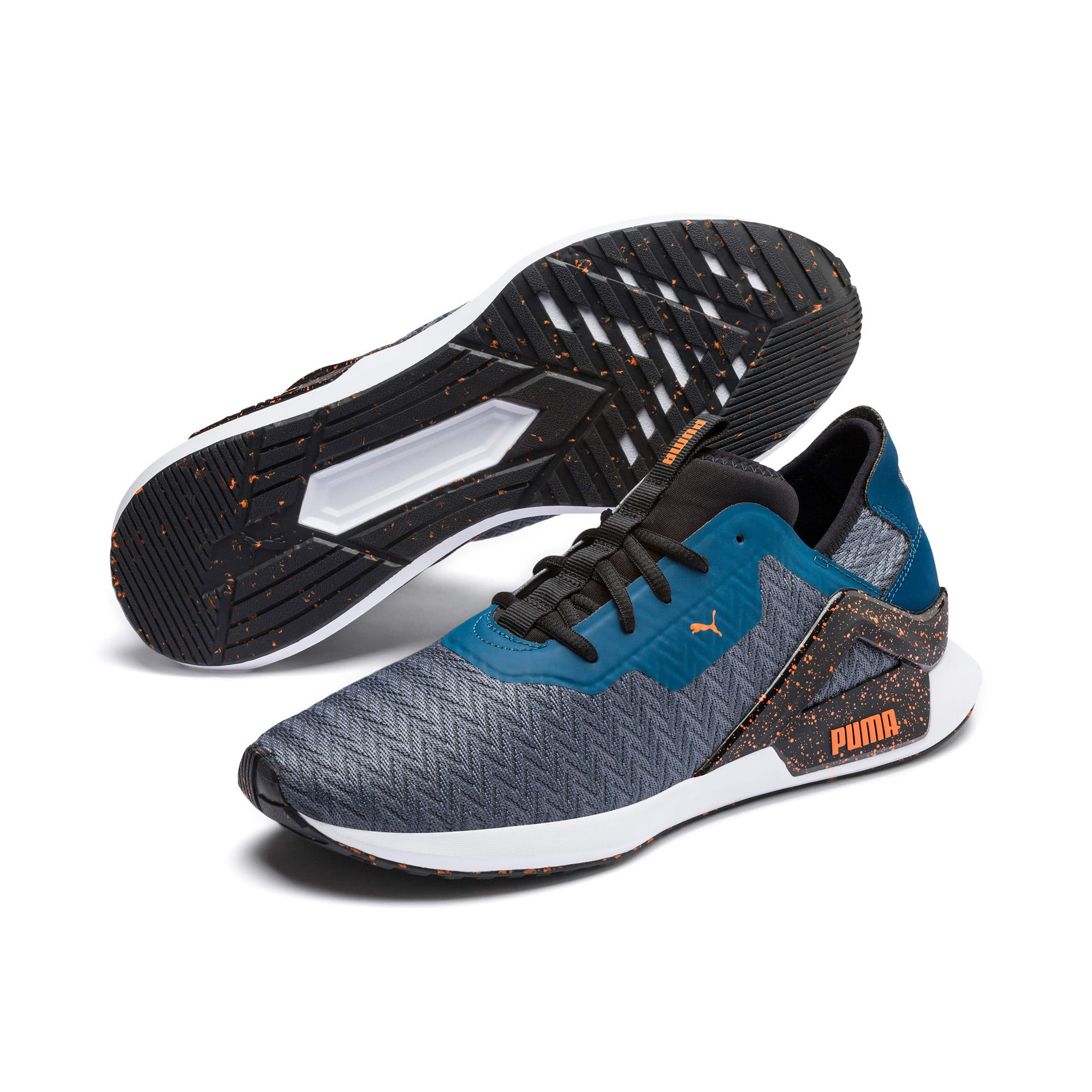 Thumbnail 3 of Rogue X Terrain Herren Sneaker, CASTLEROCK-Gibr Sea-J Orange, medium