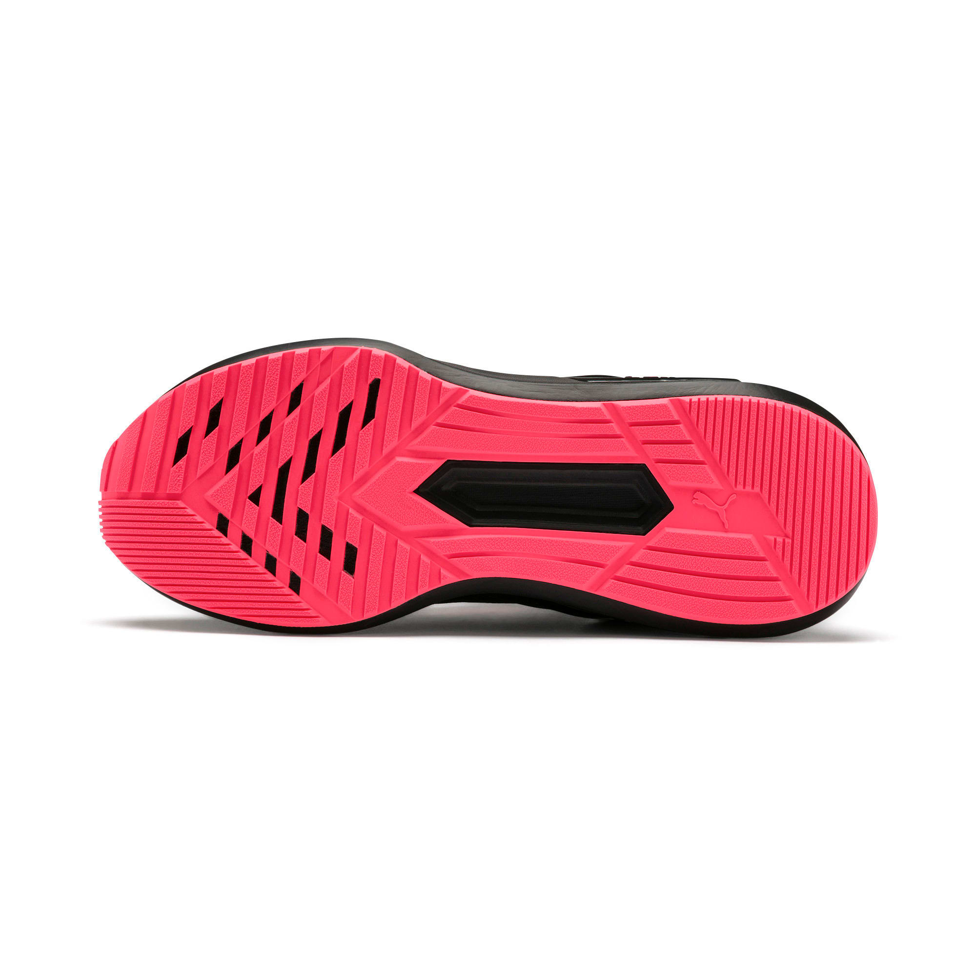 Thumbnail 6 of Rogue X Knit Women's Running Shoes, Puma Black-Pink Alert, medium-IND