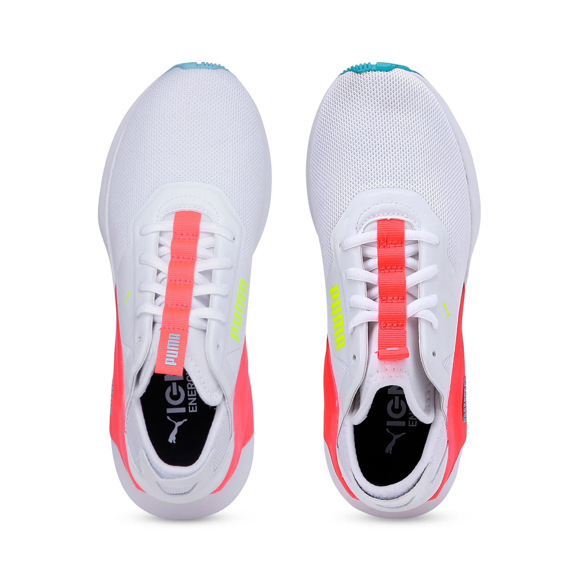 Thumbnail 8 of Rogue X Knit Women's Running Shoes, Puma White-Pink Alert, medium-IND