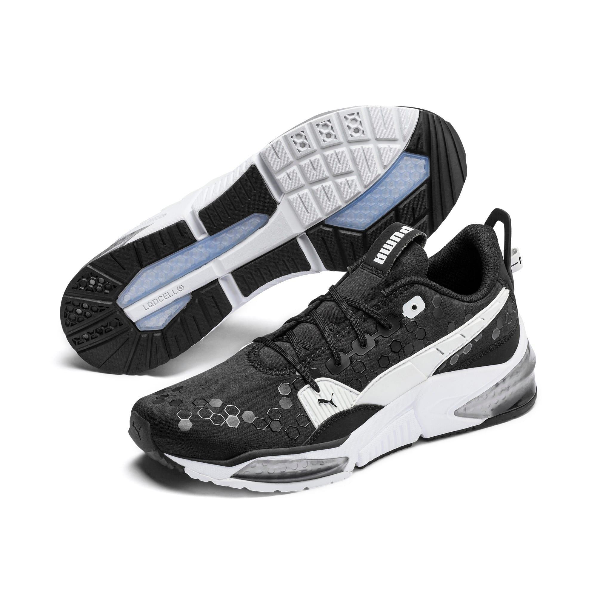 Thumbnail 3 of LQDCELL Optic Training Shoes, Puma Black-Puma White, medium