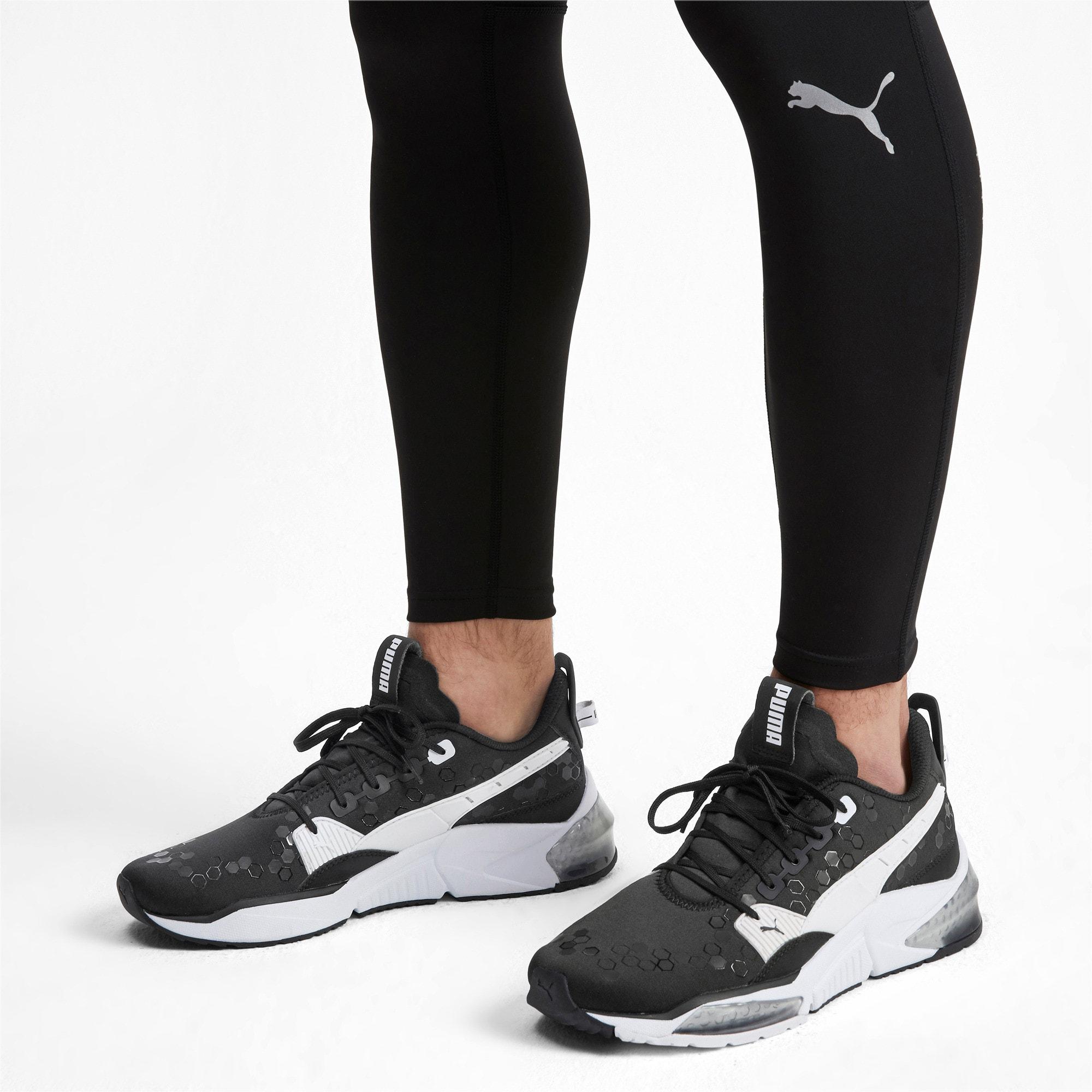 Thumbnail 2 of LQDCELL Optic Training Shoes, Puma Black-Puma White, medium