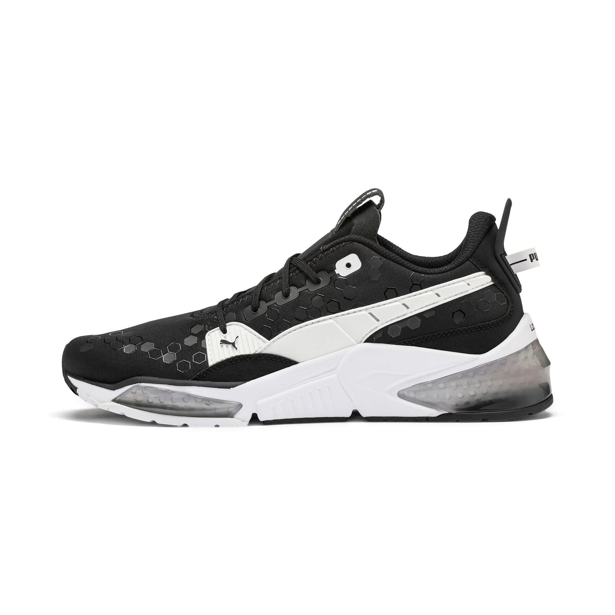 Thumbnail 1 of LQDCELL Optic Training Shoes, Puma Black-Puma White, medium