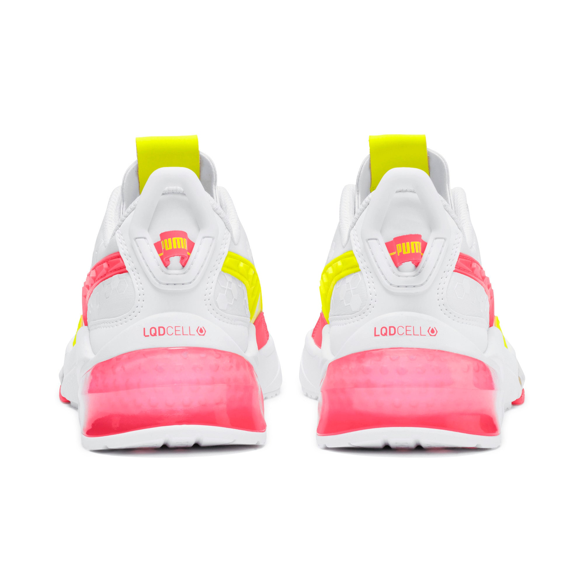 Thumbnail 4 of LQDCELL Optic Training Shoes, Puma White-Y Alert-Pin Alert, medium
