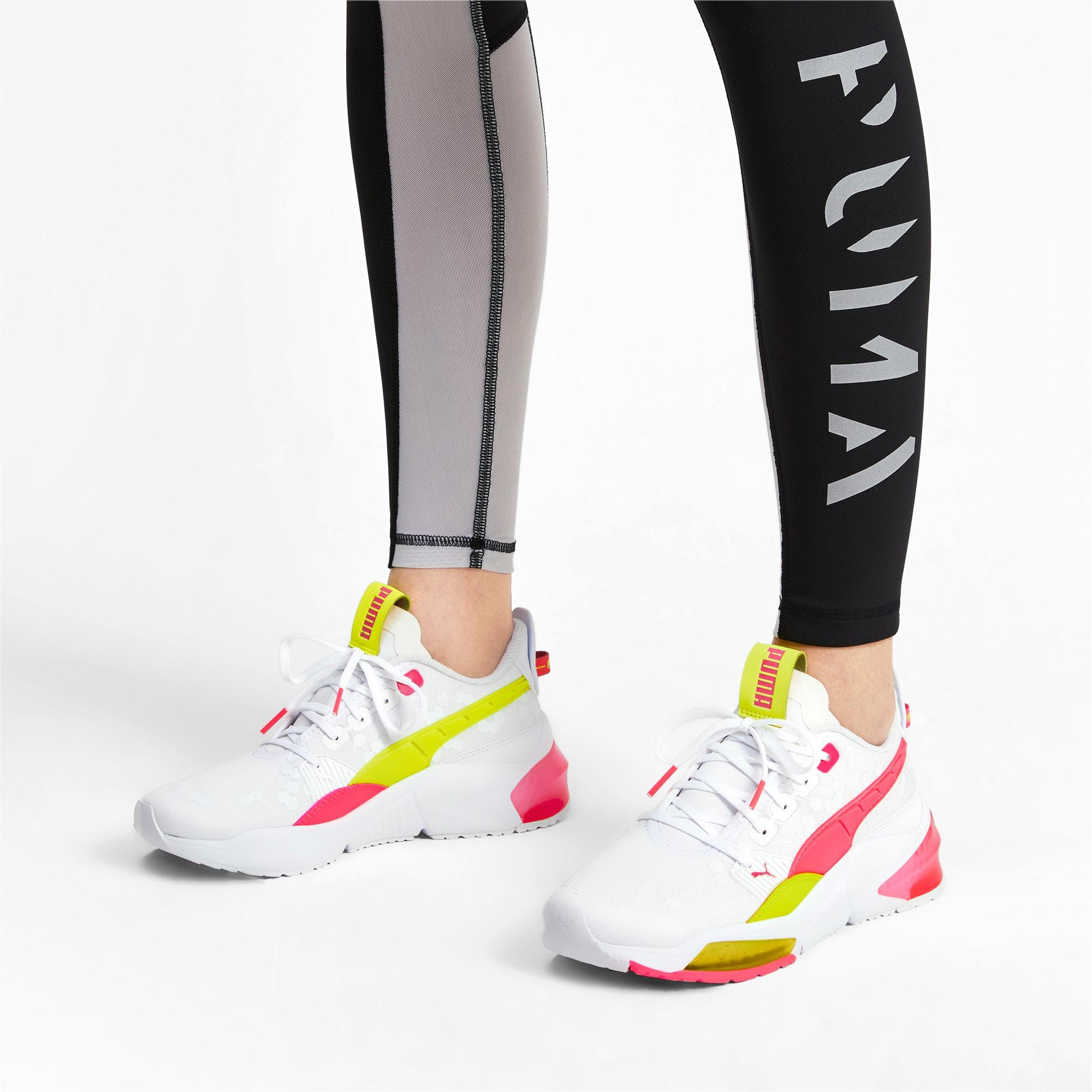 Thumbnail 2 of LQDCELL Optic Training Shoes, Puma White-Y Alert-Pin Alert, medium