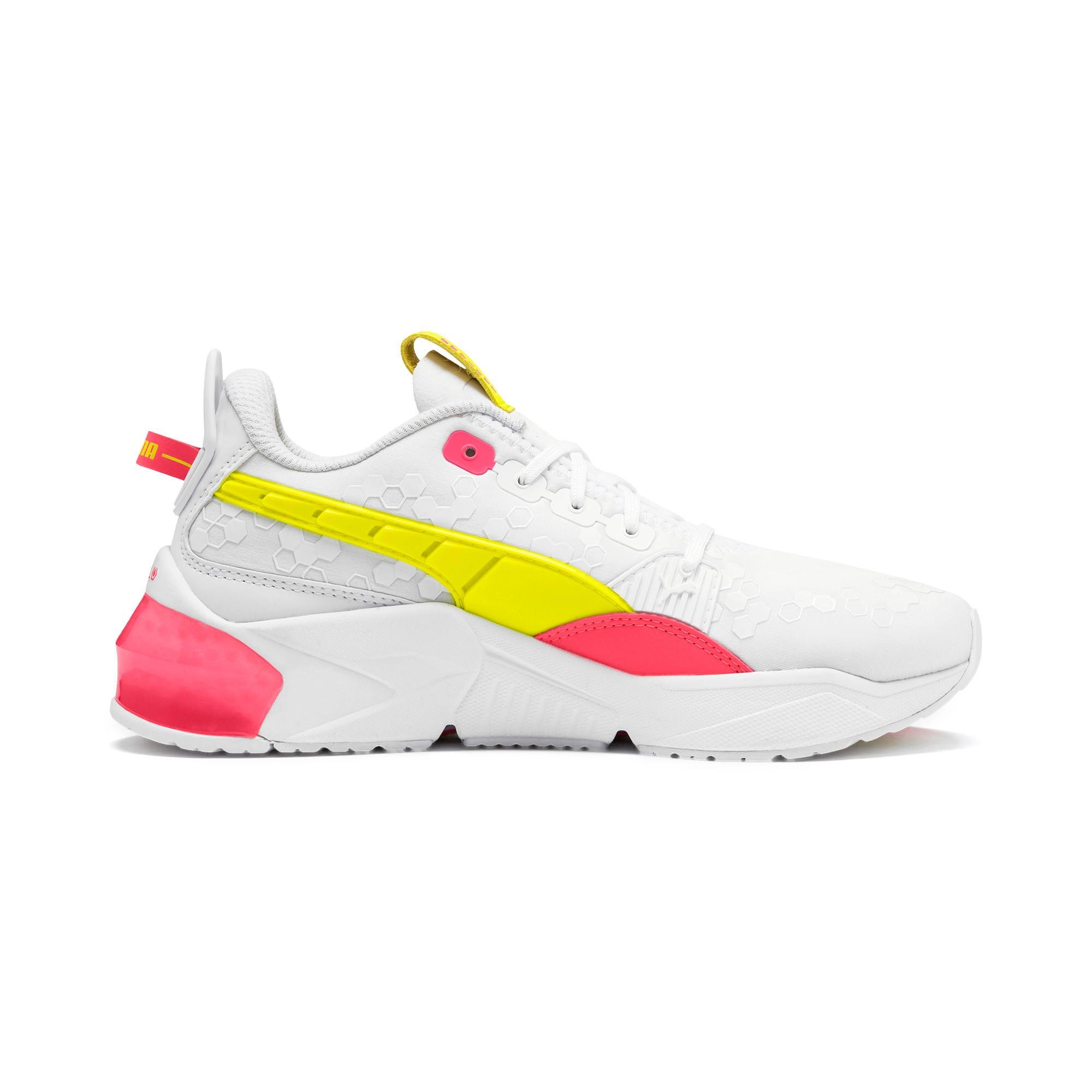 Thumbnail 6 of LQDCELL Optic Training Shoes, Puma White-Y Alert-Pin Alert, medium