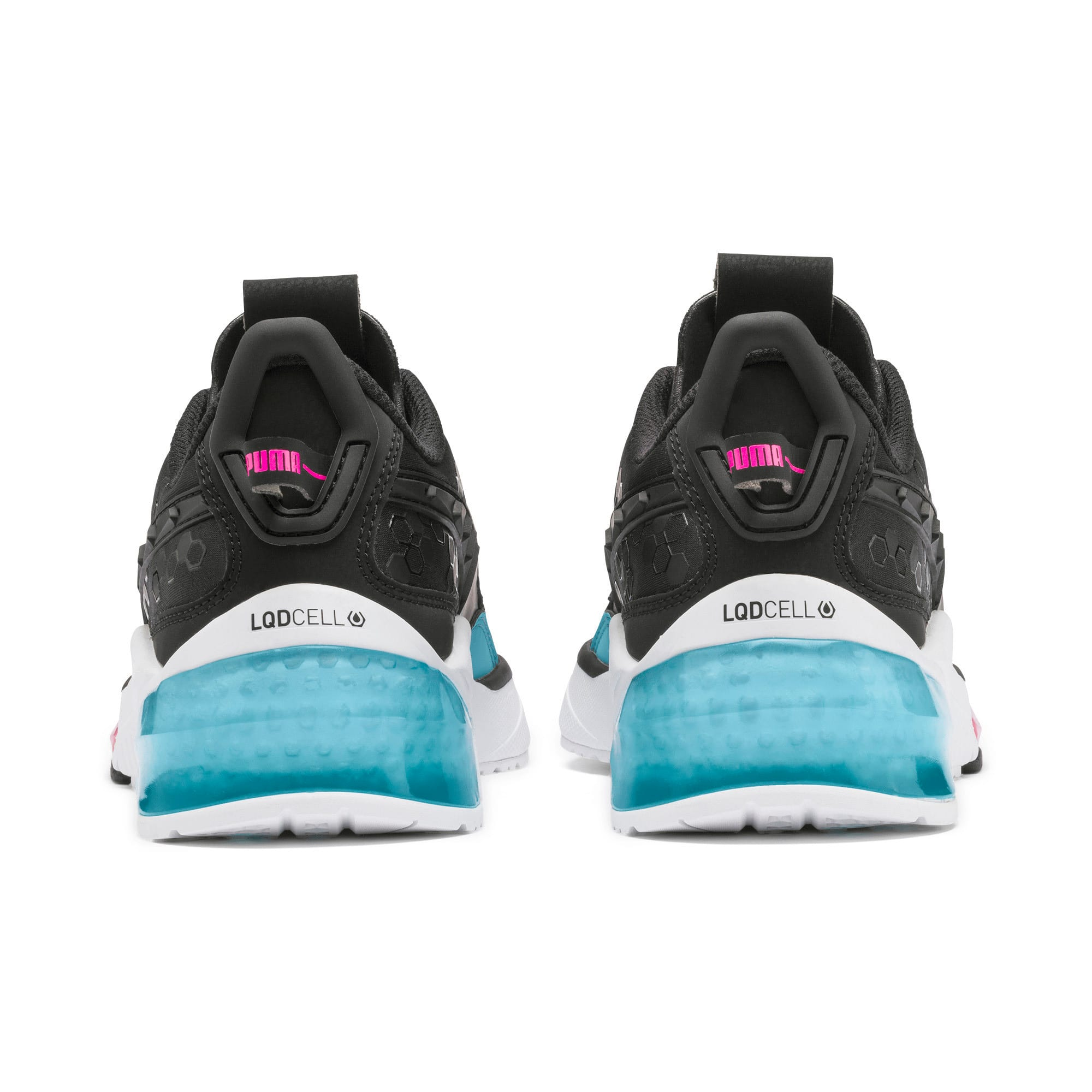 Thumbnail 4 of LQDCELL Optic Training Shoes, Puma Black-M Blue-Pink Alert, medium