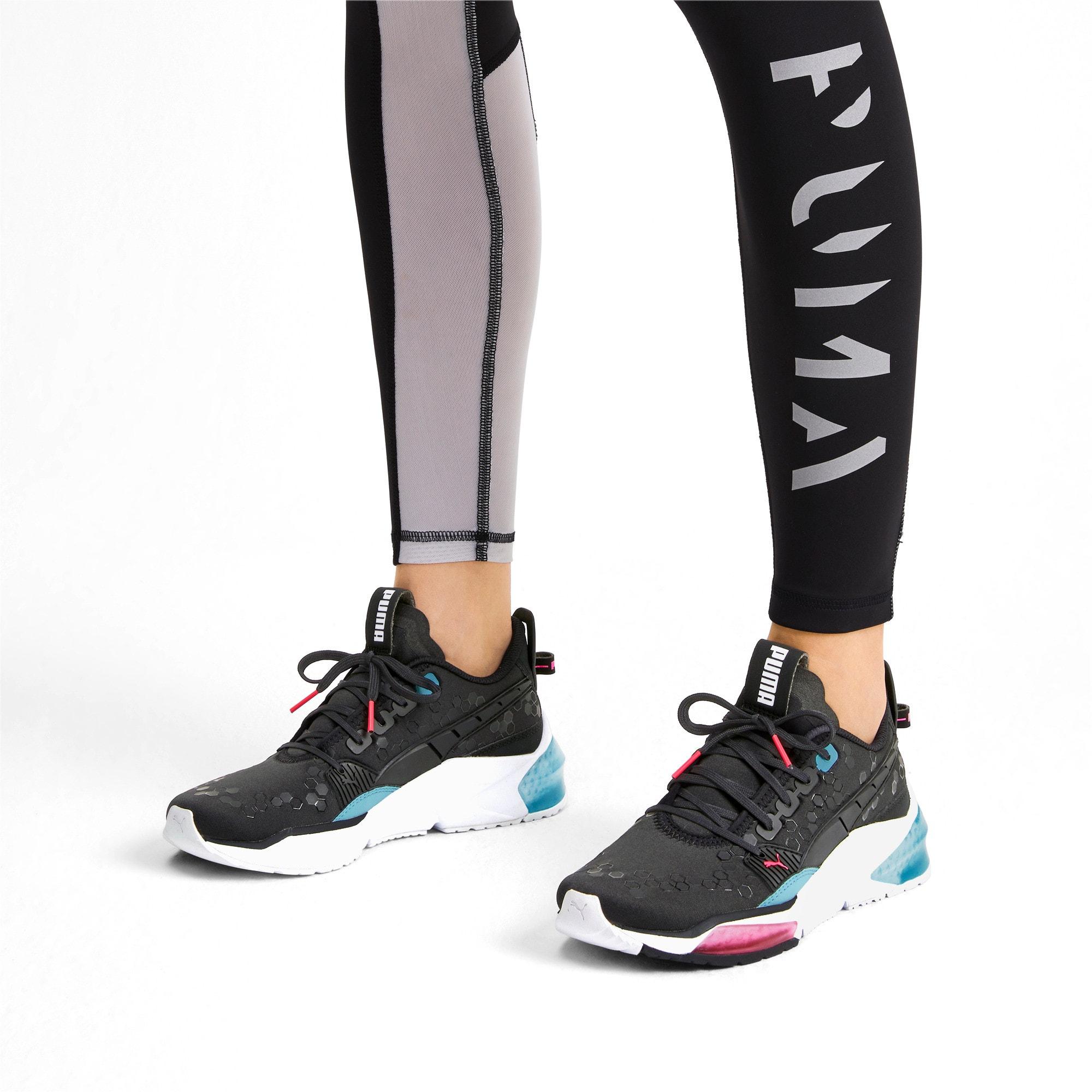 Thumbnail 2 of LQDCELL Optic Training Shoes, Puma Black-M Blue-Pink Alert, medium