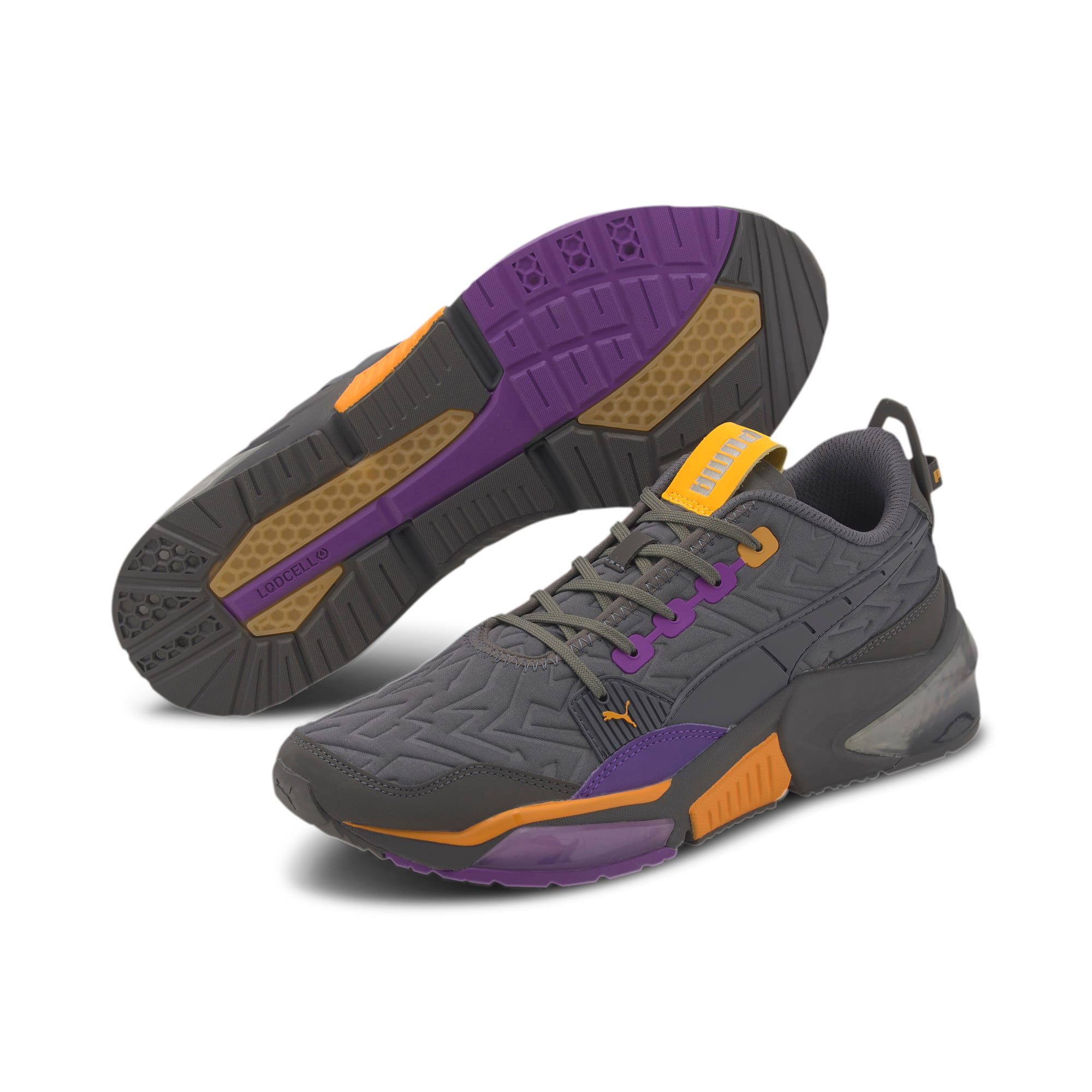 Thumbnail 2 of LQDCELL Optic Rave Men's Running Shoes, CASTLEROCK-Purple Glimmer, medium