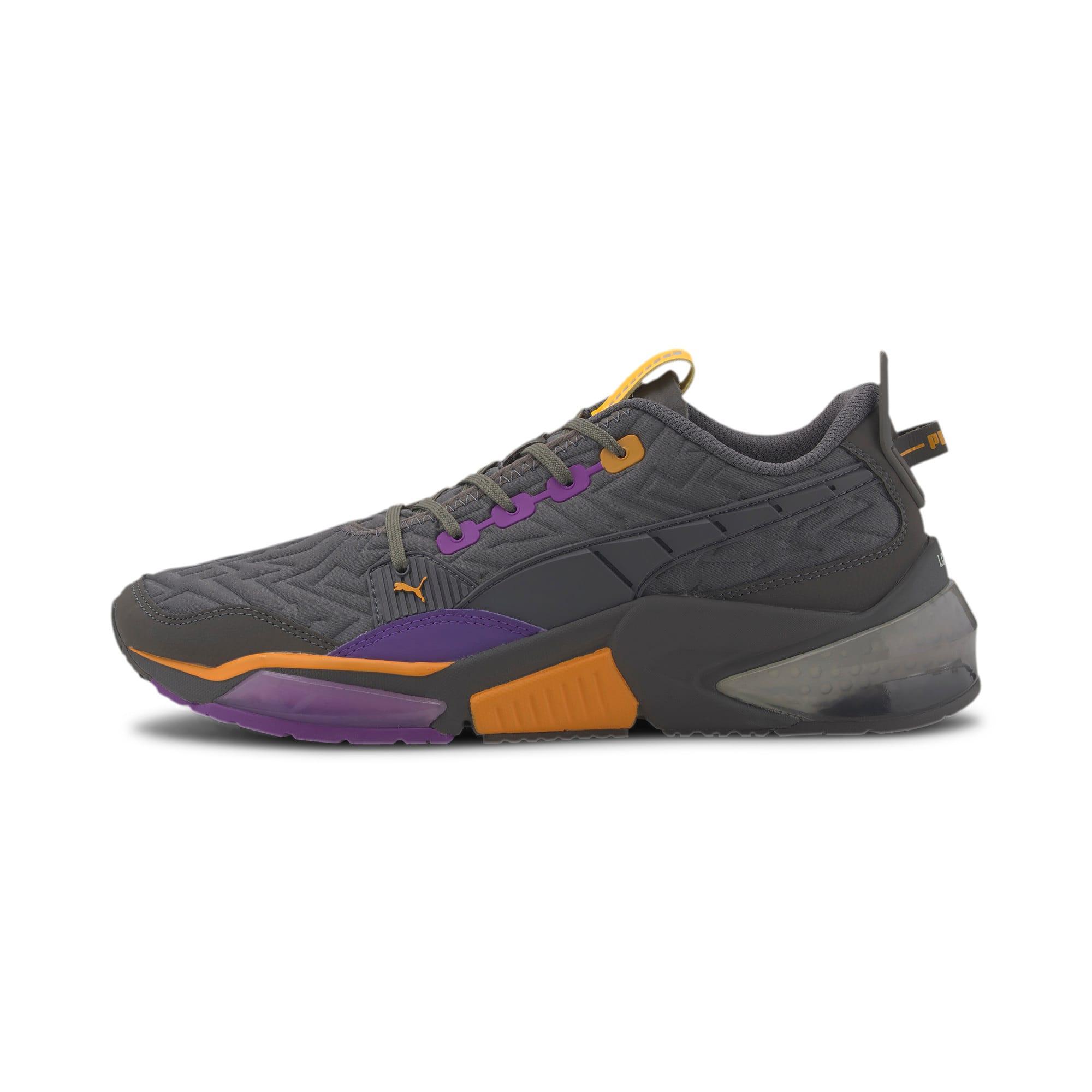 Thumbnail 1 of LQDCELL Optic Rave Men's Running Shoes, CASTLEROCK-Purple Glimmer, medium