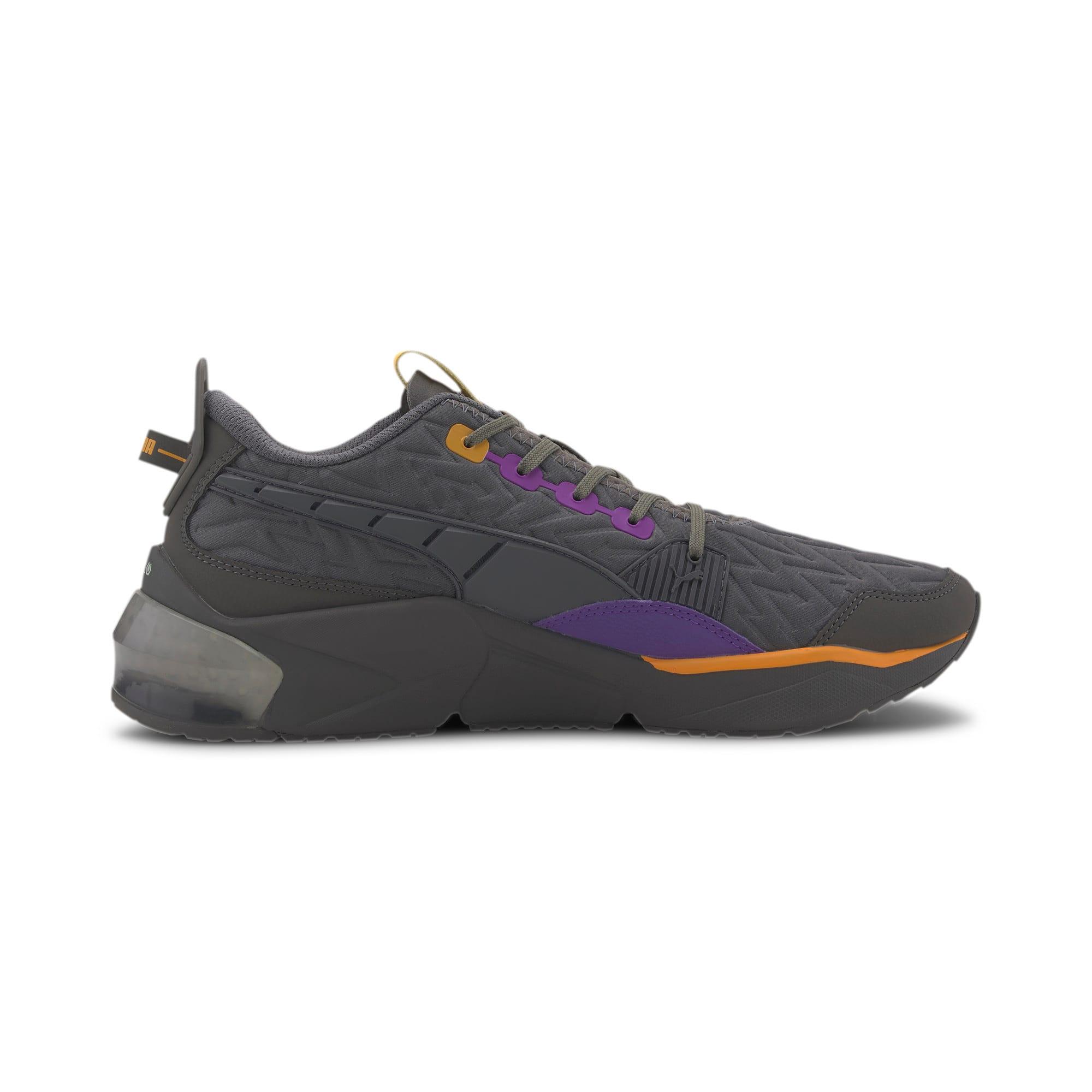 Thumbnail 5 of LQDCELL Optic Rave Men's Running Shoes, CASTLEROCK-Purple Glimmer, medium