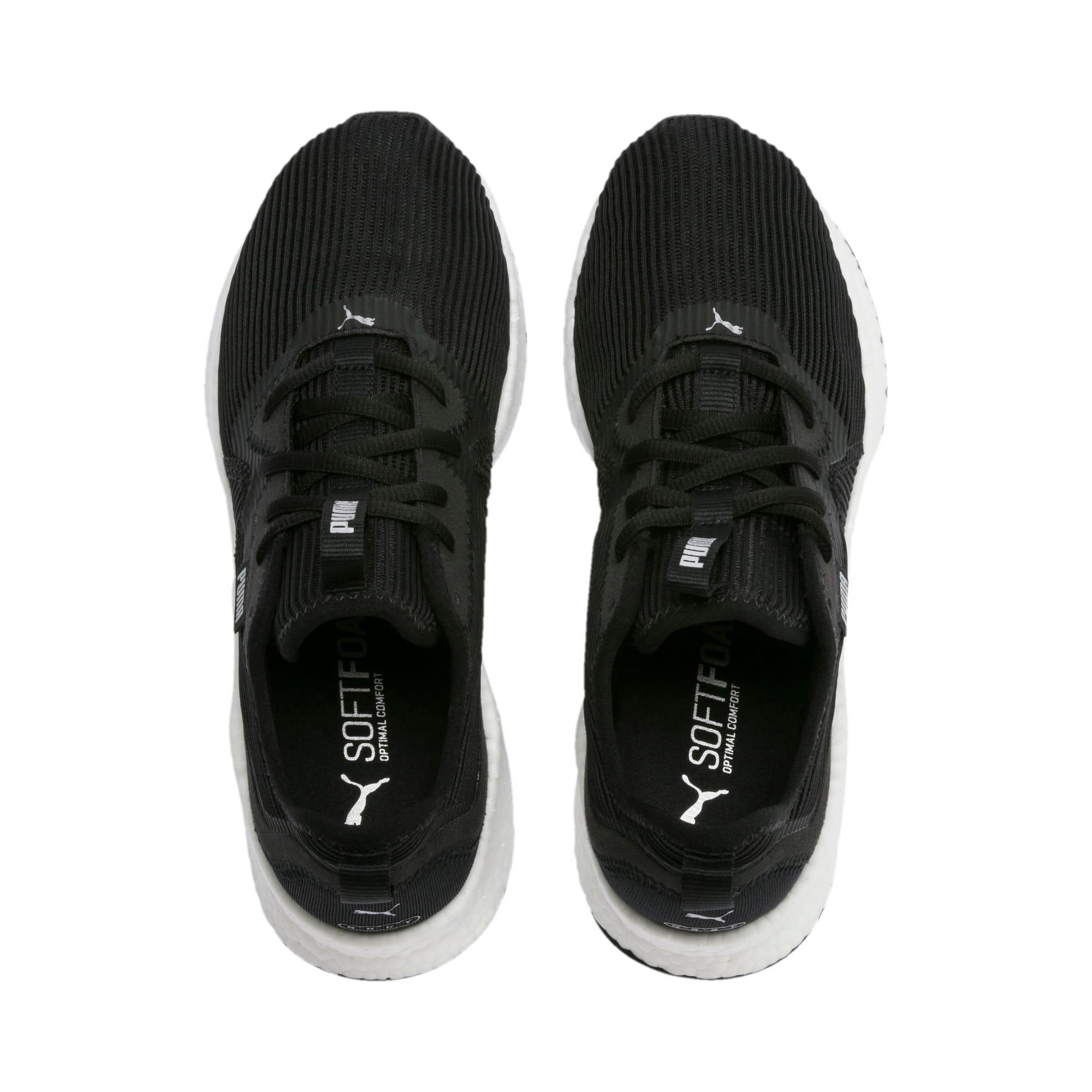 Thumbnail 4 of NRGY Star Femme Women's Running Shoes, Black-Silver-White, medium-IND