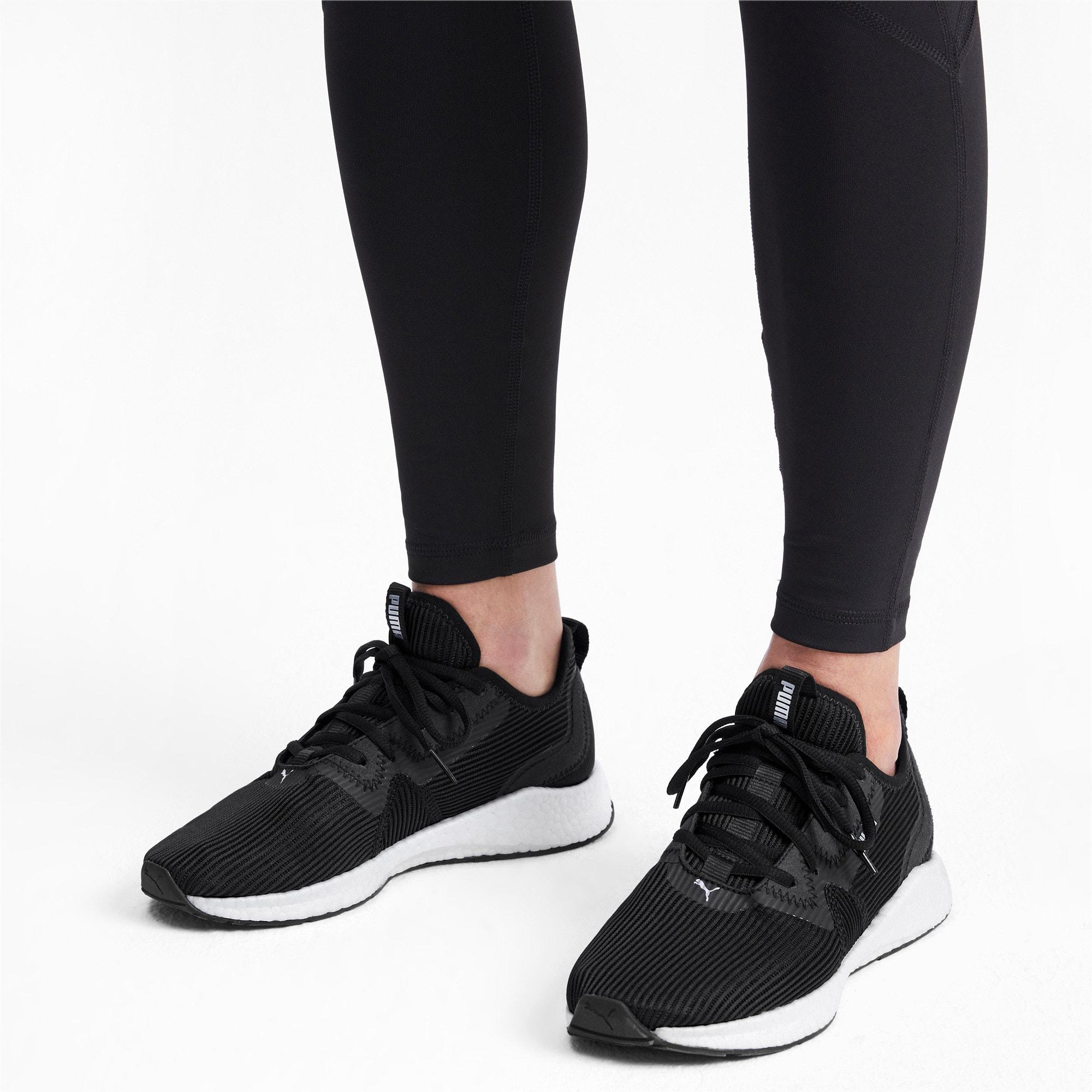Thumbnail 2 of NRGY Star Femme Women's Running Shoes, Black-Silver-White, medium-IND