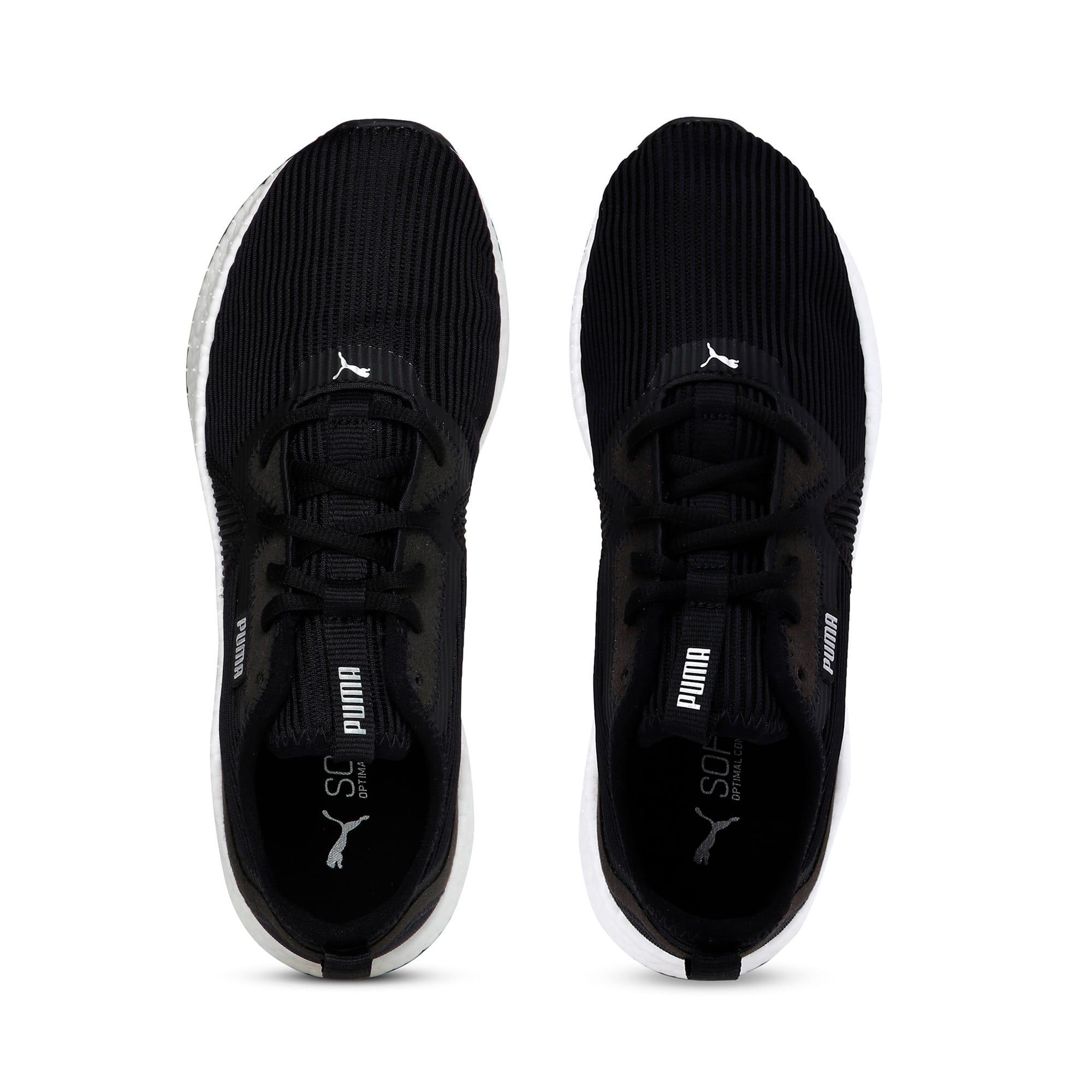 Thumbnail 8 of NRGY Star Femme Women's Running Shoes, Black-Silver-White, medium-IND