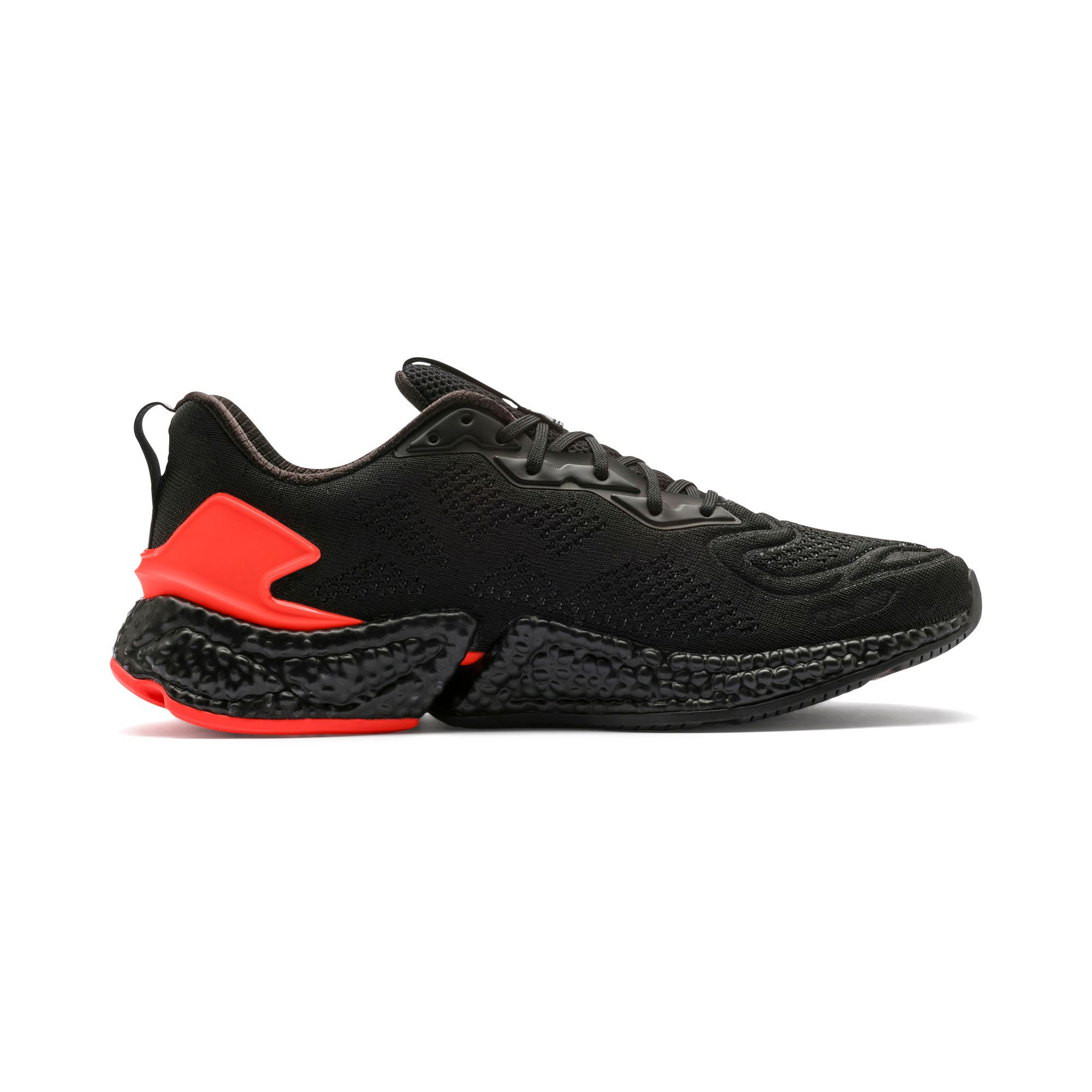 Thumbnail 7 of HYBRID SPEED Orbiter Men's Running Shoes, Black-Nrgy Red-Yellow, medium-IND