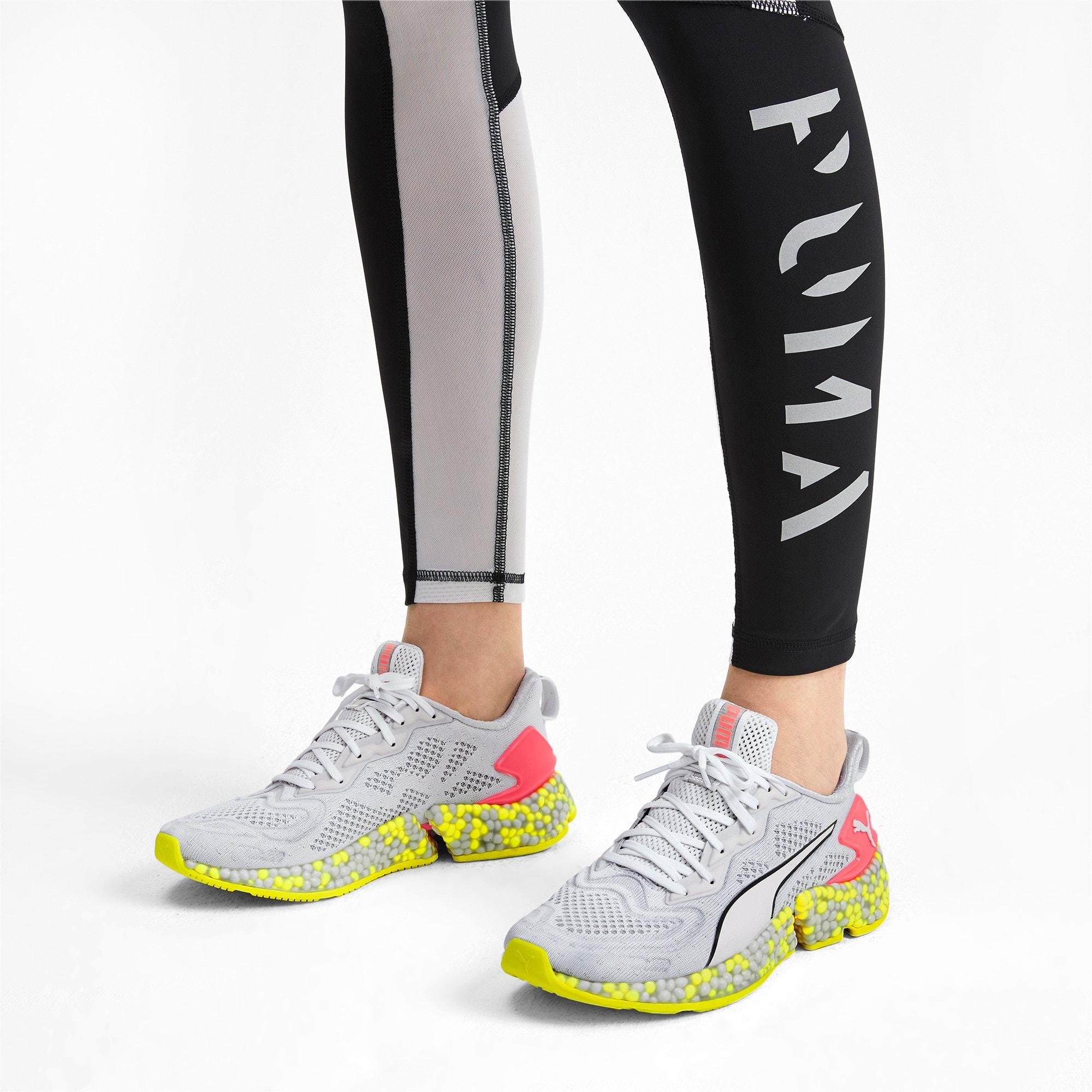 Thumbnail 2 van HYBRID SPEED Orbiter hardloopschoenen voor vrouwen, Puma White-Yellow Alert, medium