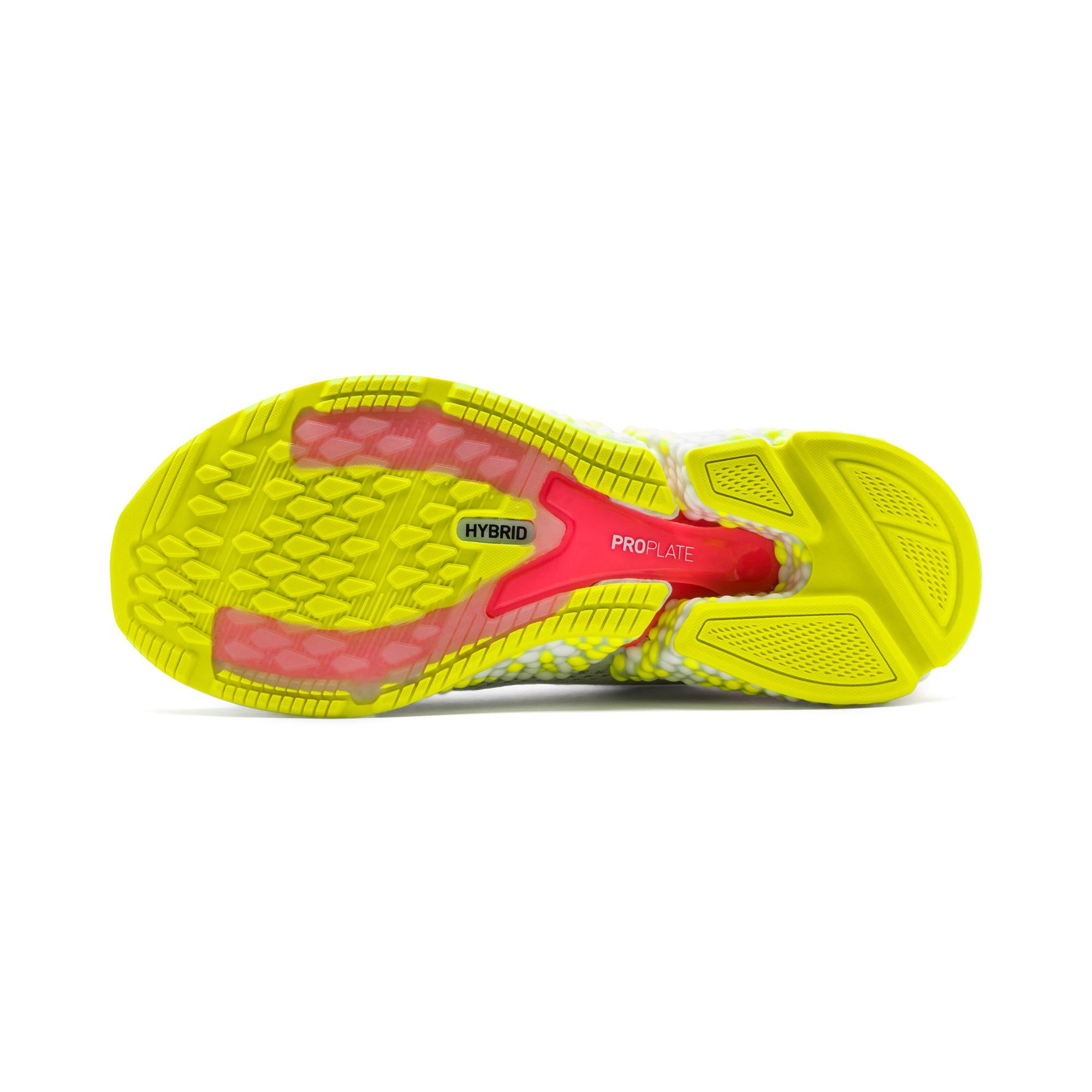 Thumbnail 5 van HYBRID SPEED Orbiter hardloopschoenen voor vrouwen, Puma White-Yellow Alert, medium