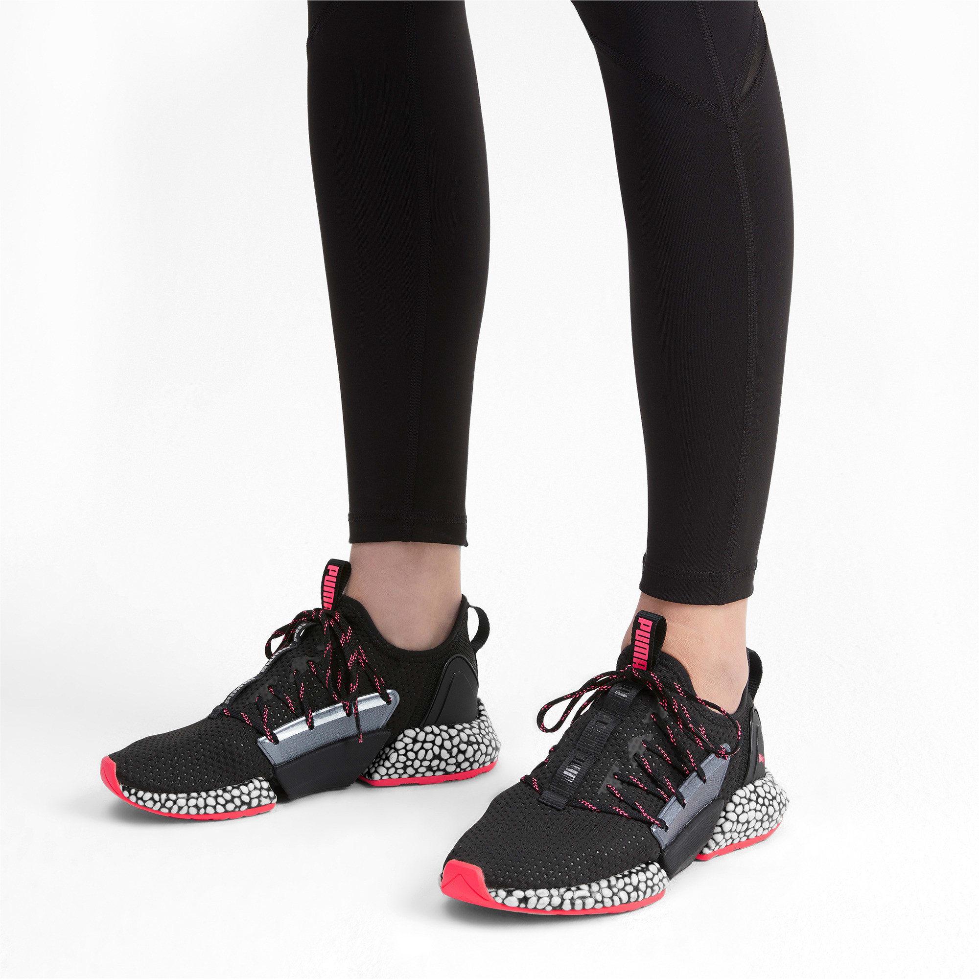 Thumbnail 2 of HYBRID Rocket Aero sneakers voor dames, Puma Black-Pink Alert, medium