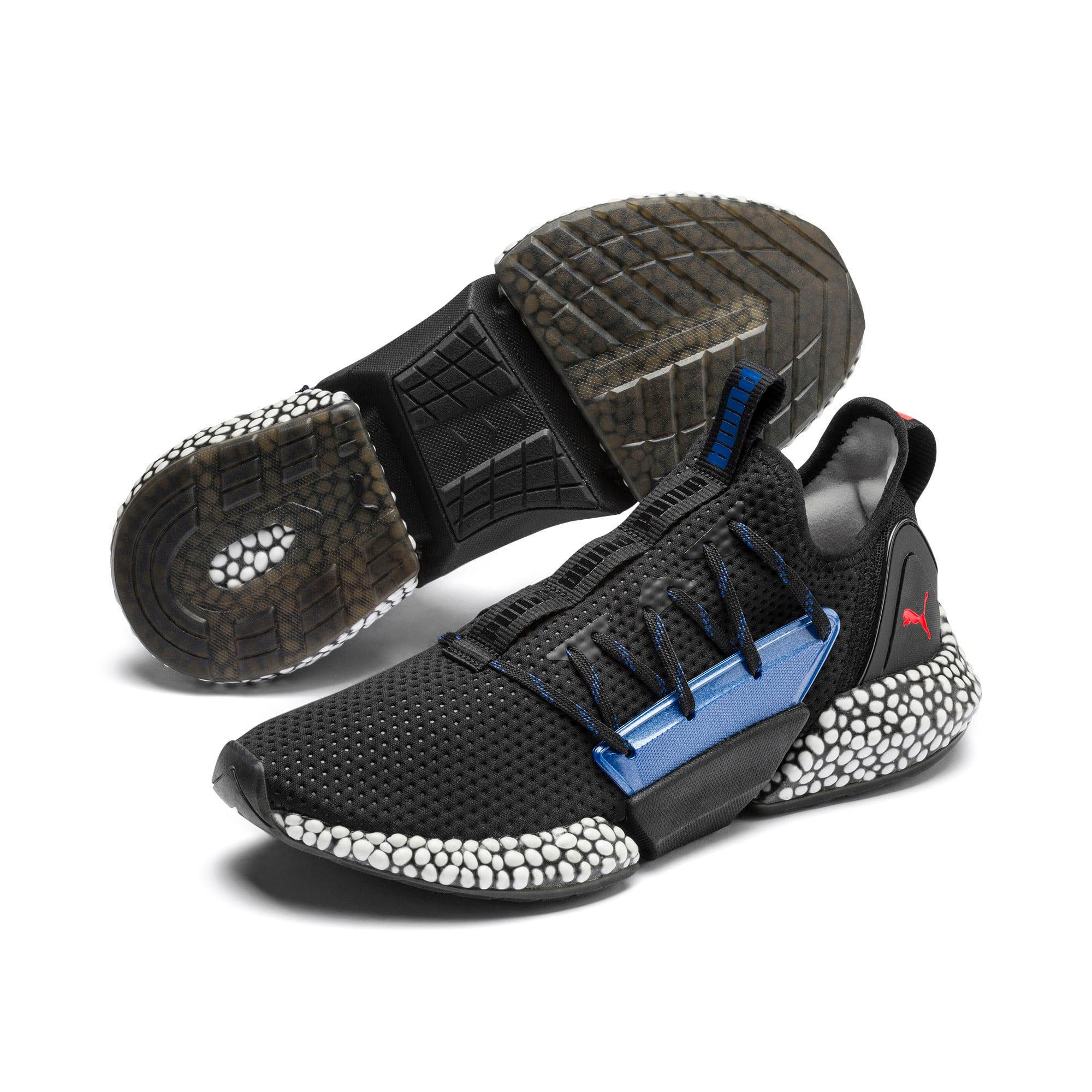 Thumbnail 3 of HYBRID Rocket Aero Men's Running Shoes, Puma Black-Galaxy Blue, medium