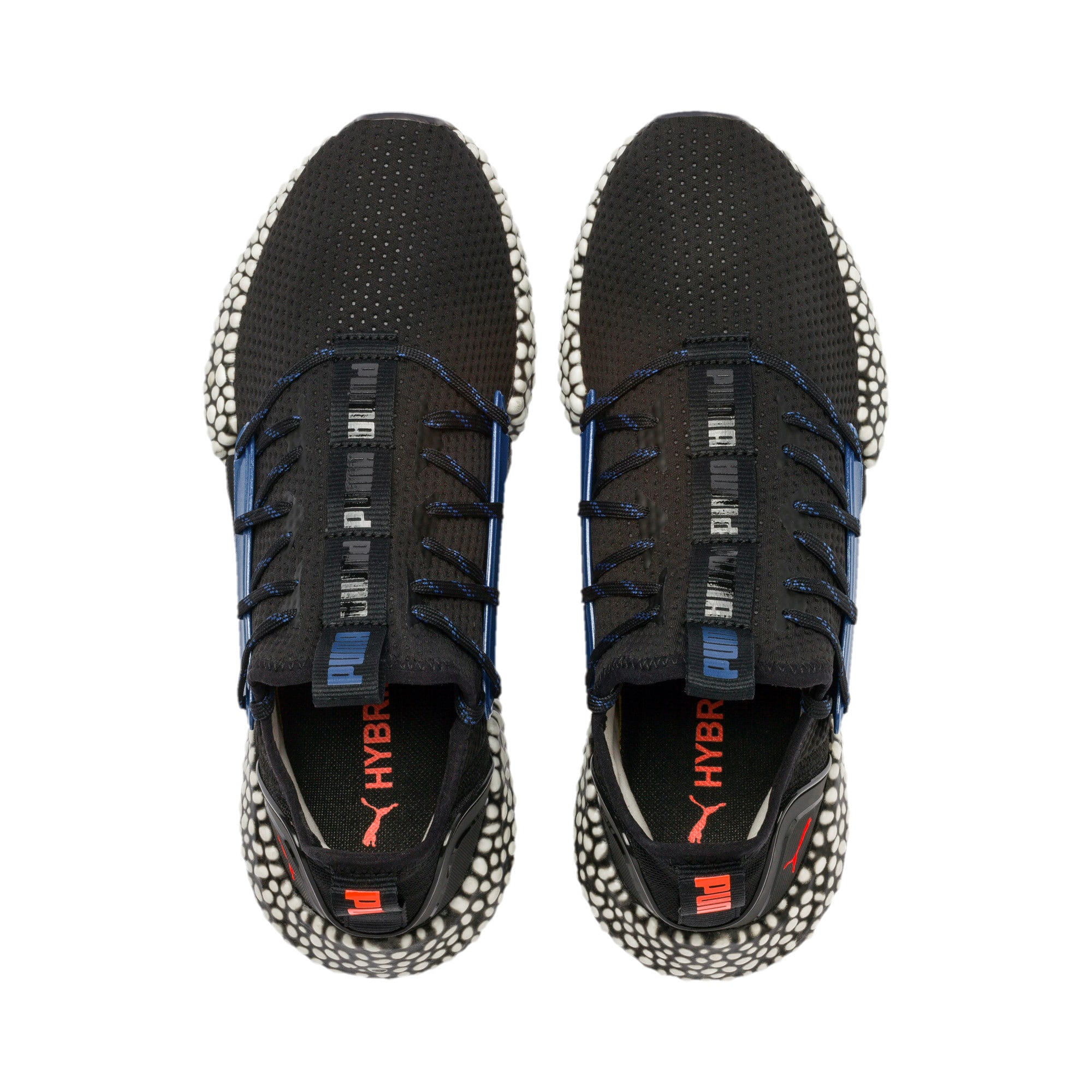 Thumbnail 7 of HYBRID Rocket Aero Men's Running Shoes, Puma Black-Galaxy Blue, medium