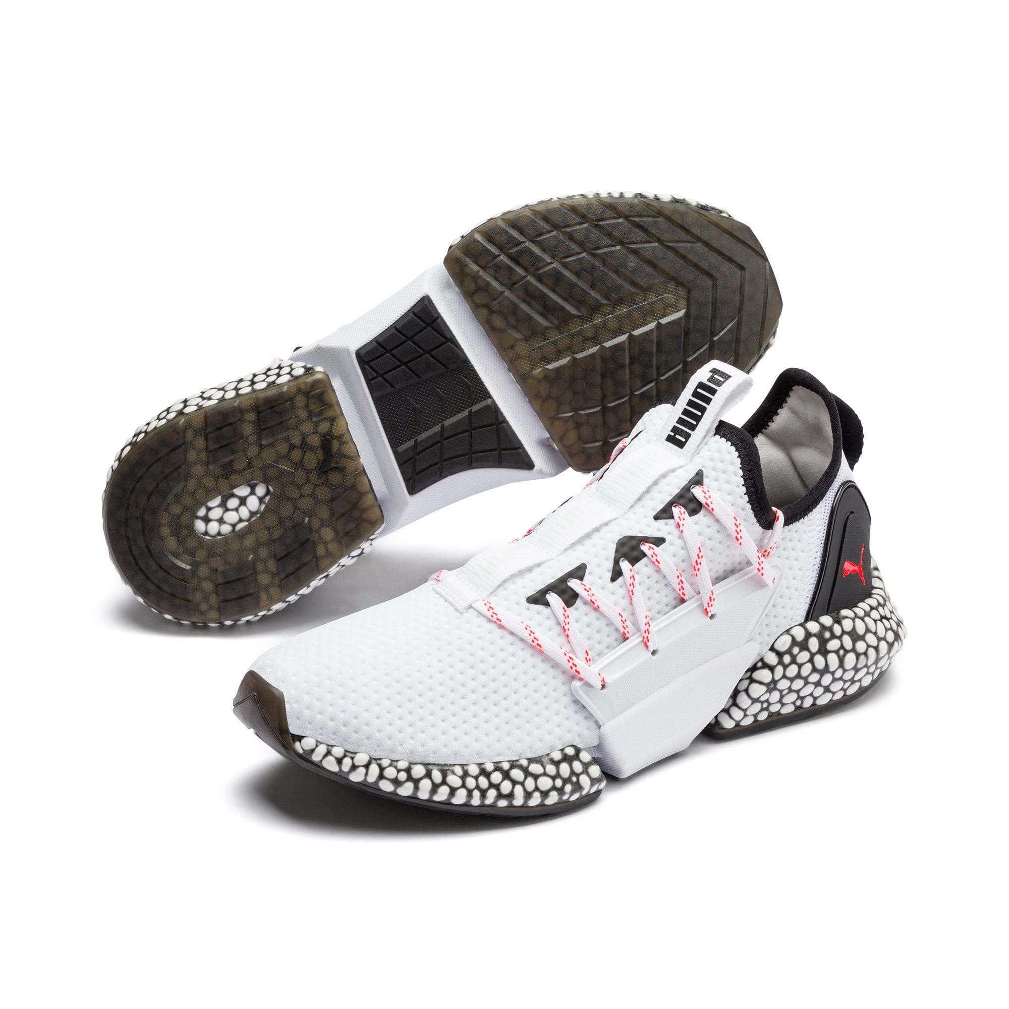 Thumbnail 3 of HYBRID Rocket Aero Men's Running Shoes, Puma White-Puma Black, medium