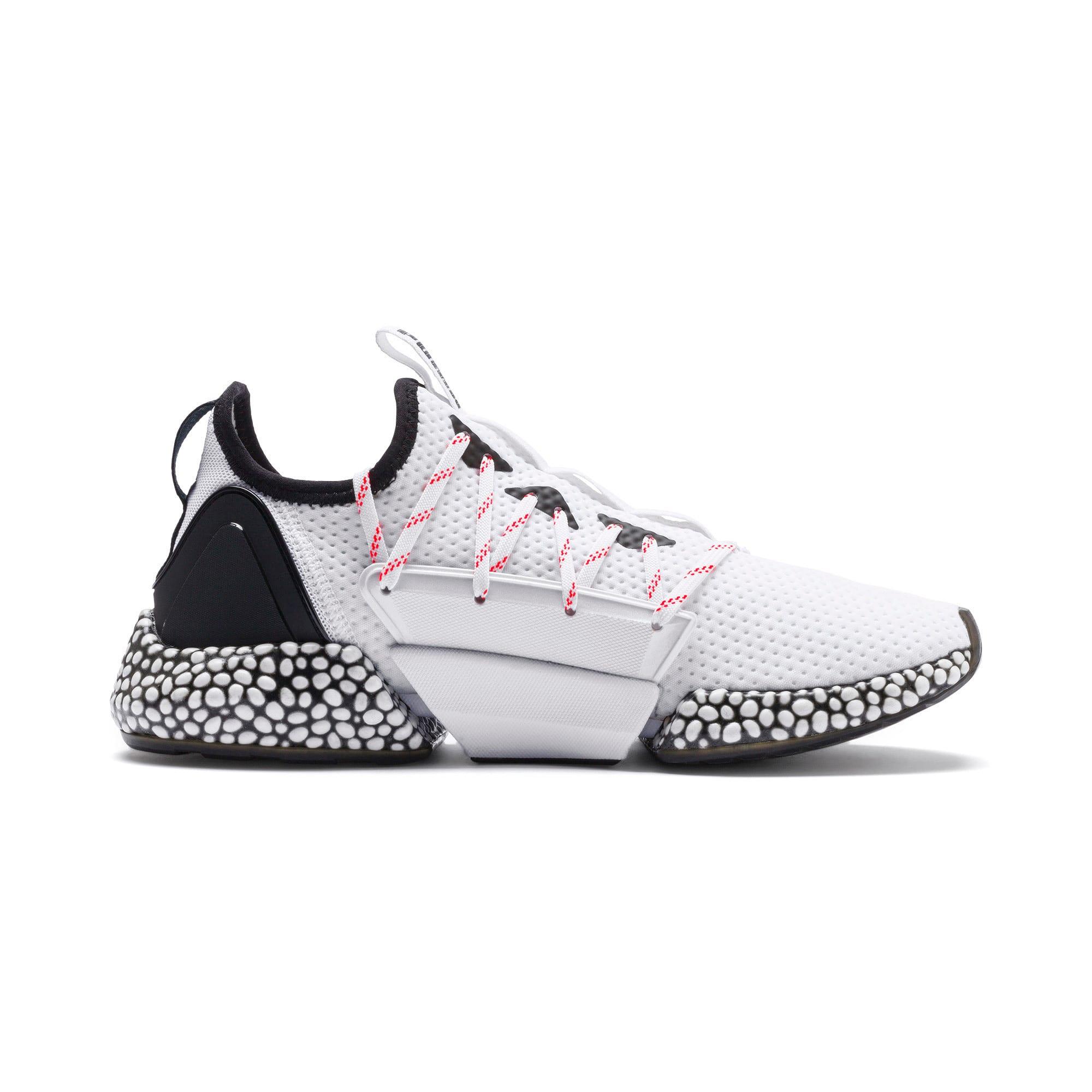 Thumbnail 6 of HYBRID Rocket Aero Men's Running Shoes, Puma White-Puma Black, medium