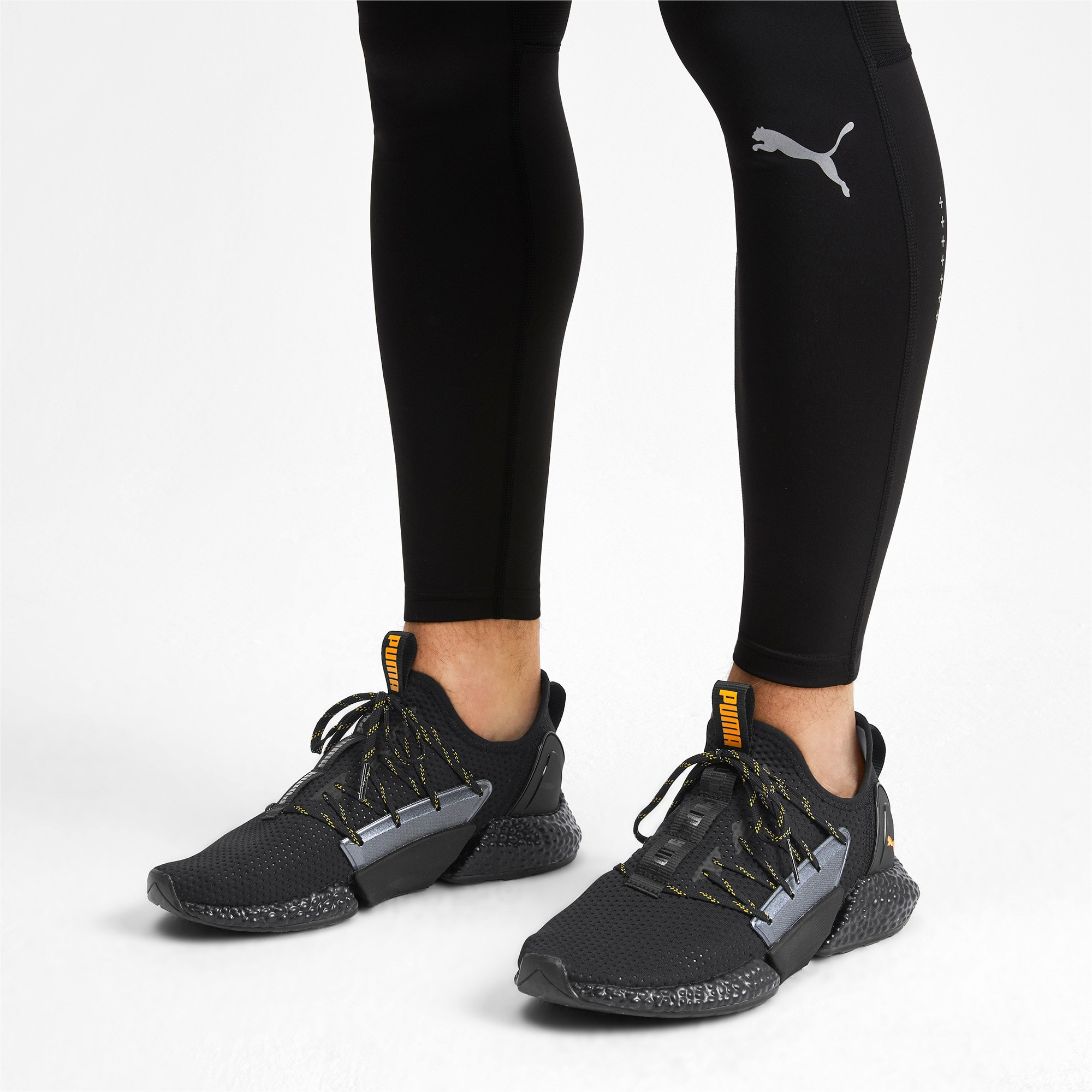 Thumbnail 2 of HYBRID Rocket Aero Men's Sneakers, Puma Black-Puma Black, medium