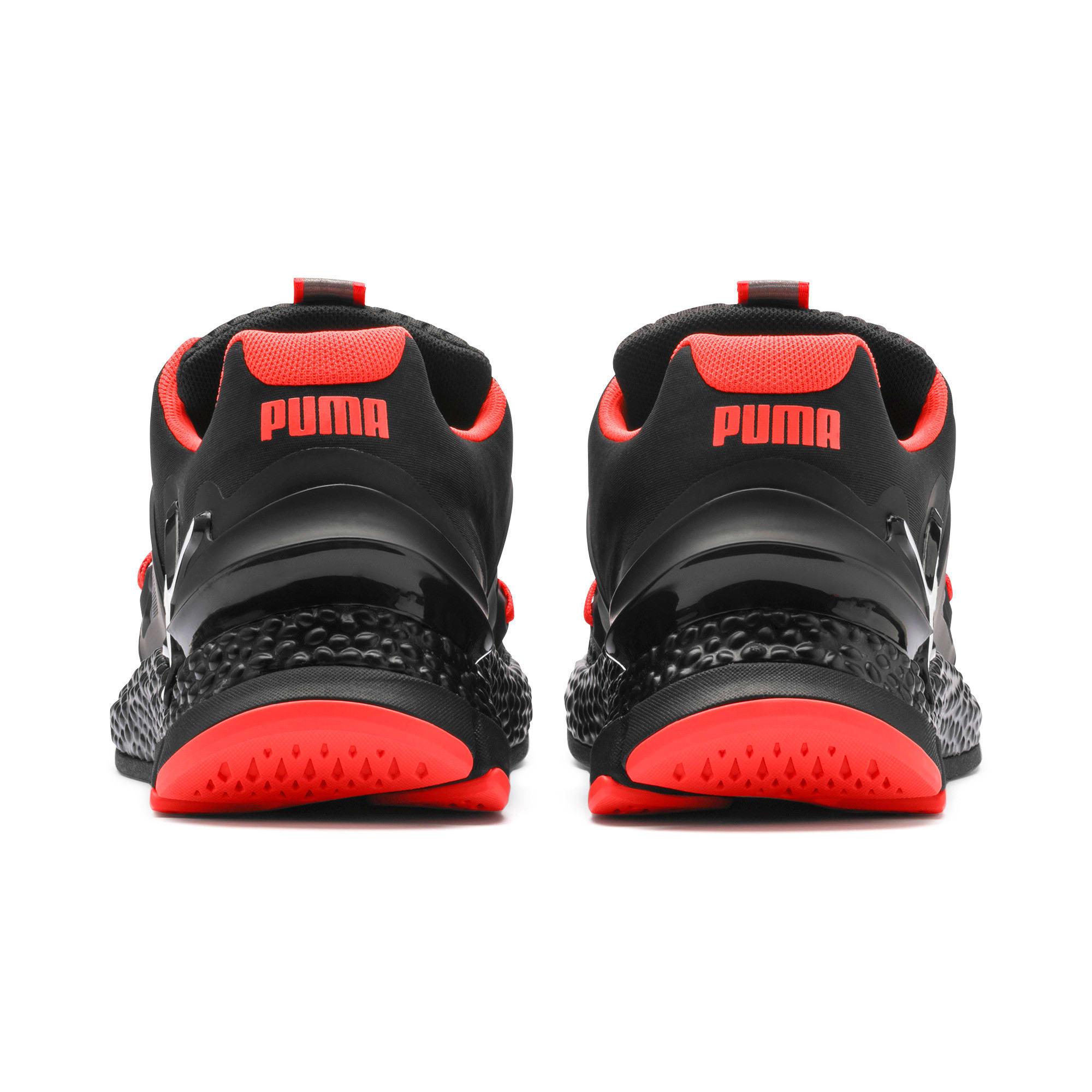 Thumbnail 4 van HYBRID Sky hardloopschoenen voor mannen, Zwart-wit-Nrgy Red, medium