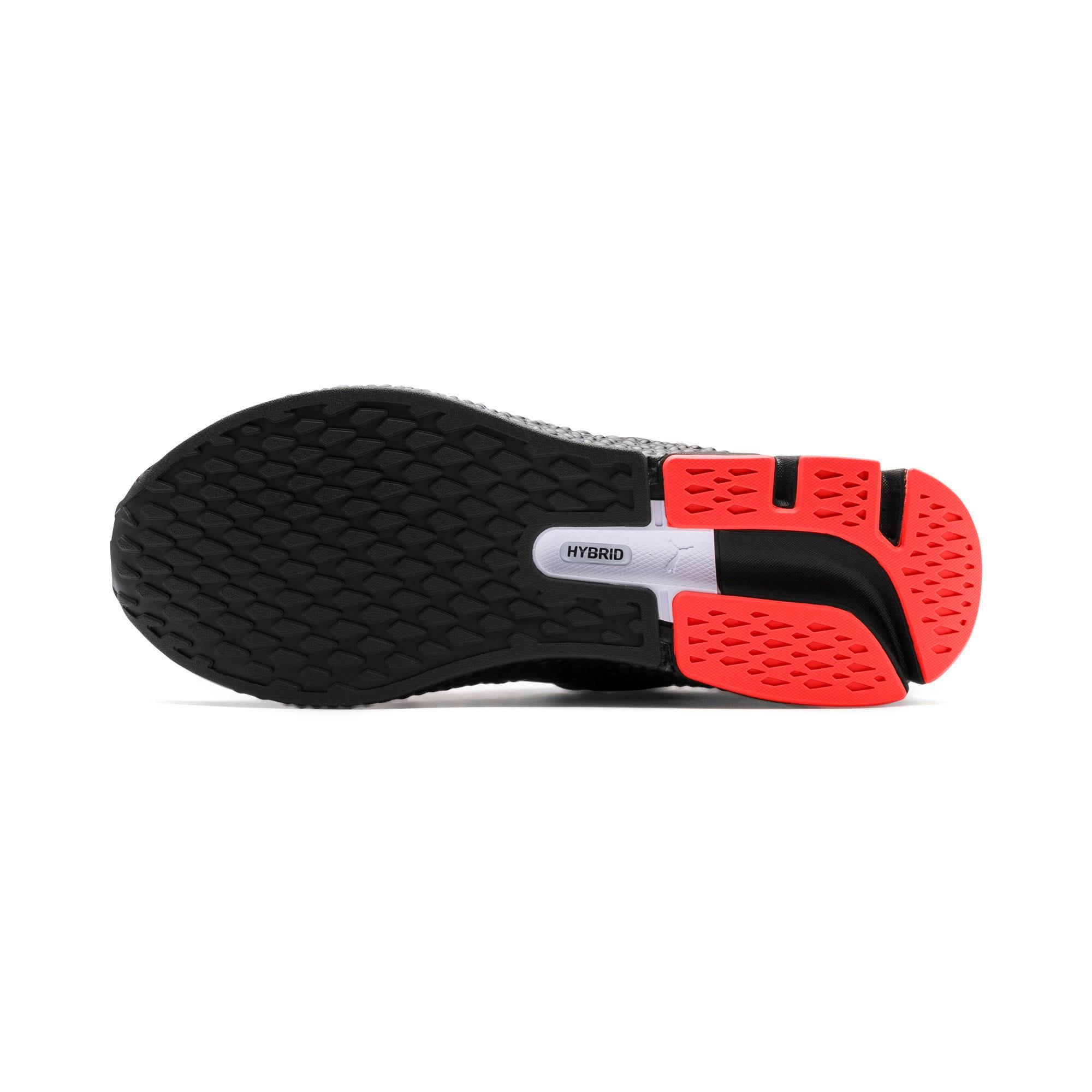 Thumbnail 5 van HYBRID Sky hardloopschoenen voor mannen, Zwart-wit-Nrgy Red, medium