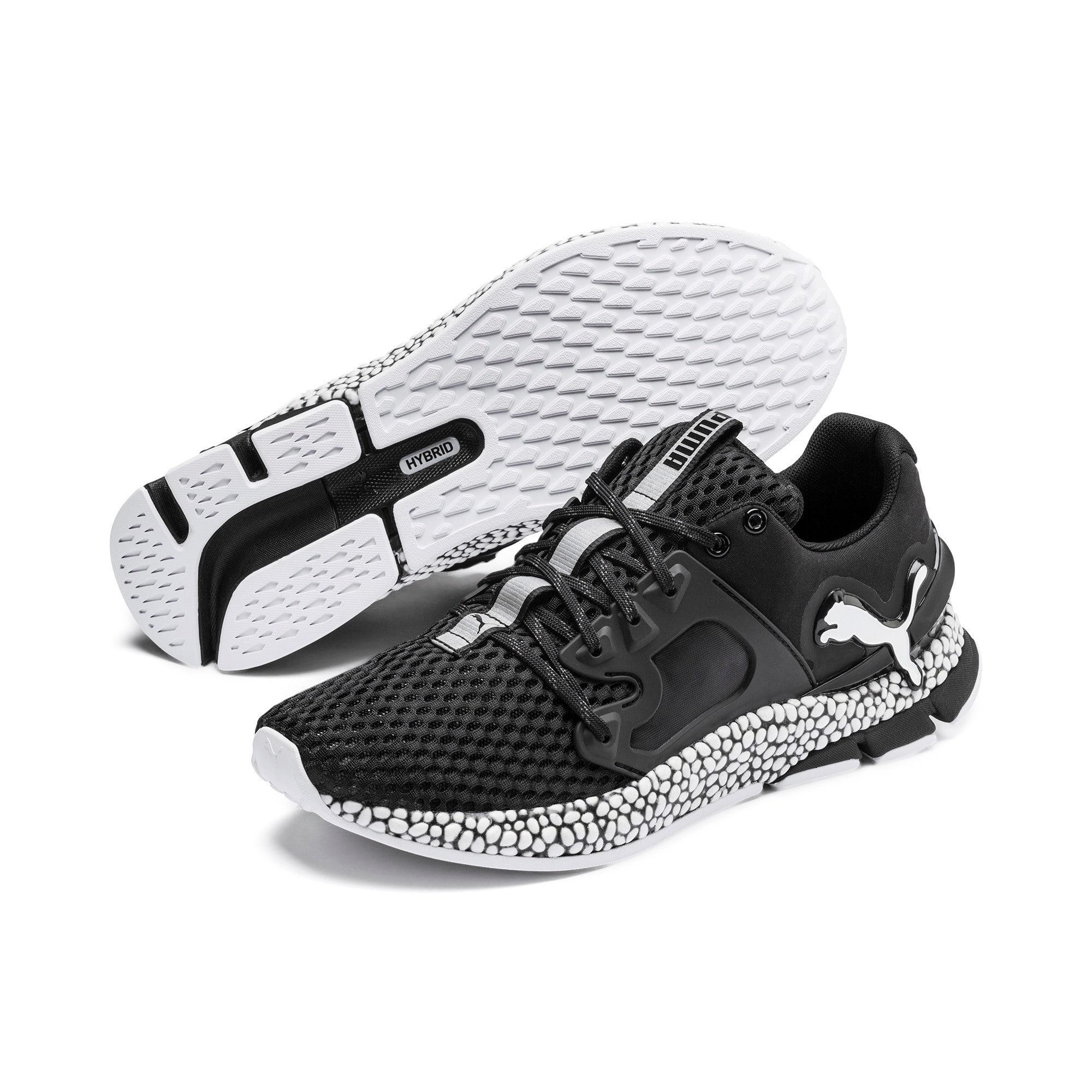 Thumbnail 3 of HYBRID Sky Men's Running Shoes, Puma Black-Puma White, medium