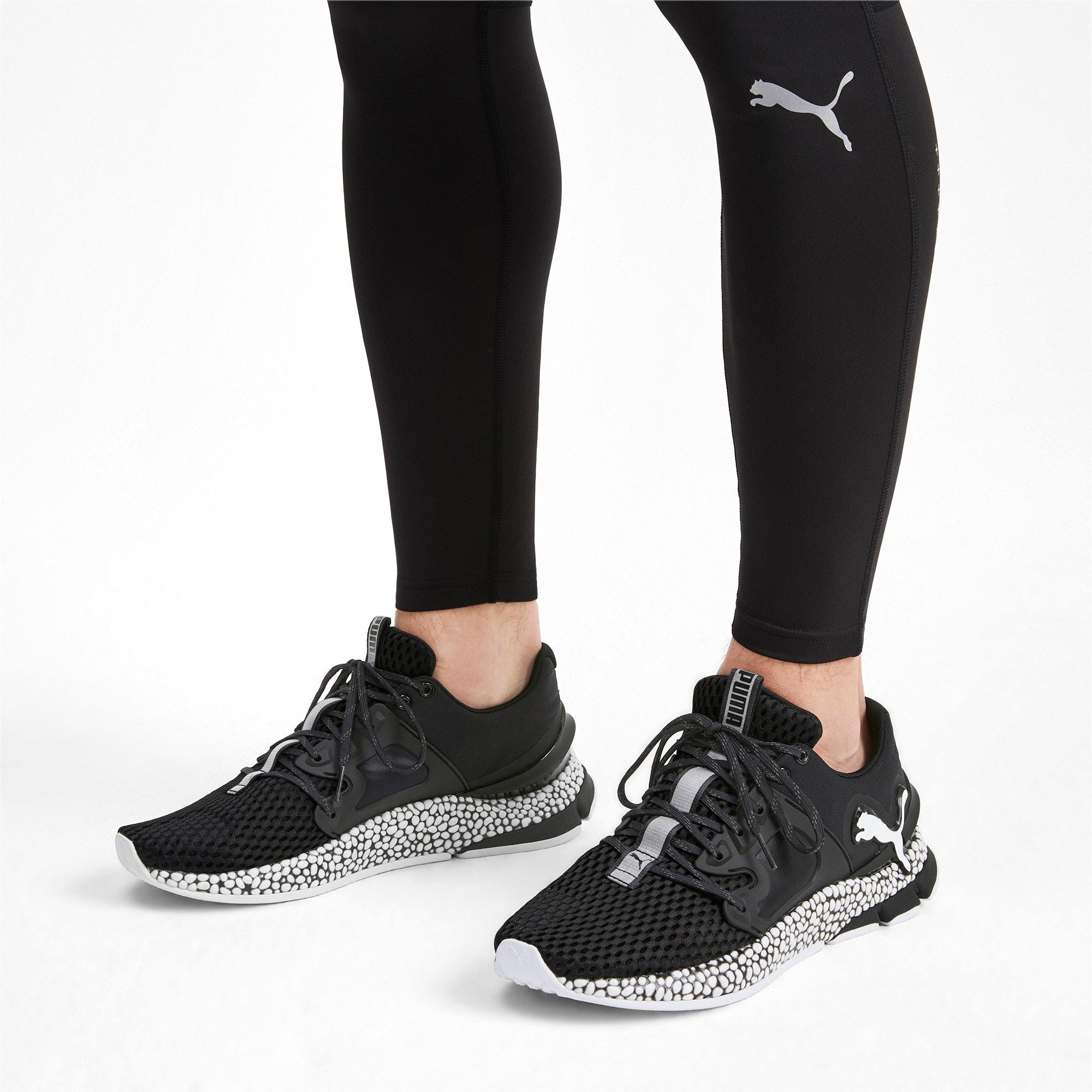 Thumbnail 2 of HYBRID Sky Men's Running Shoes, Puma Black-Puma White, medium