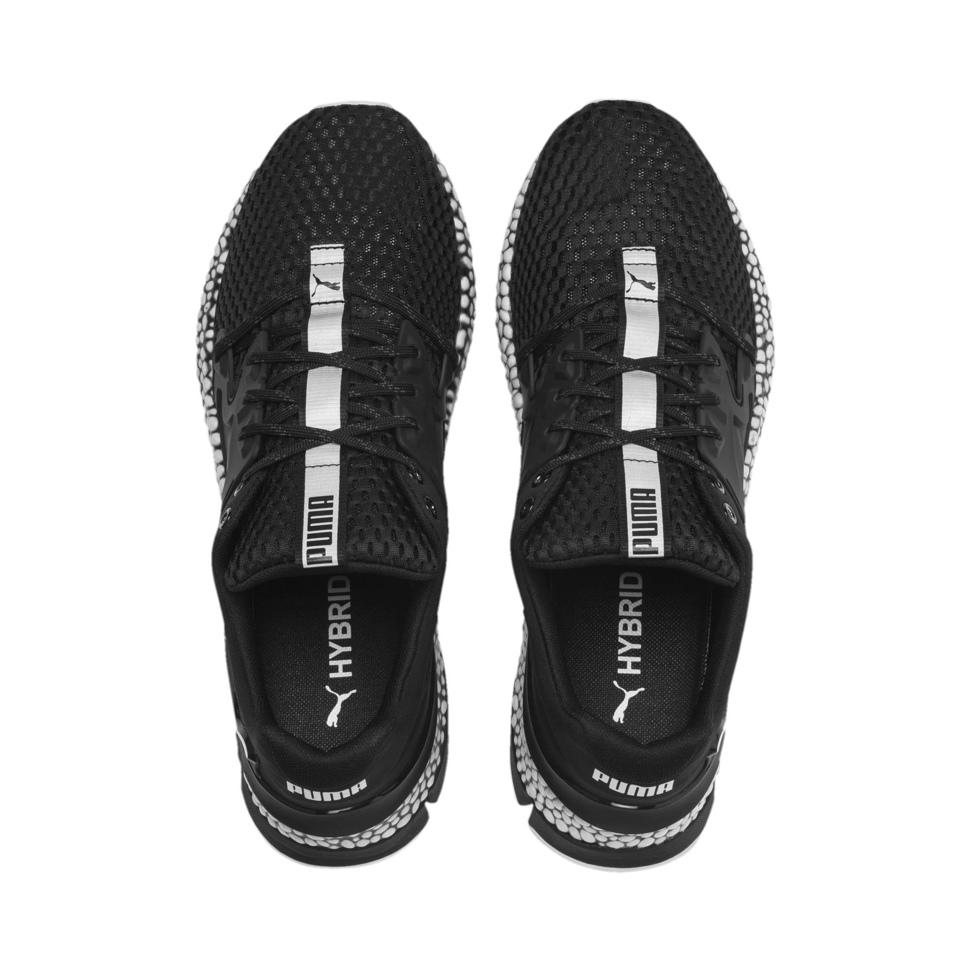 Thumbnail 7 of HYBRID Sky Men's Running Shoes, Puma Black-Puma White, medium