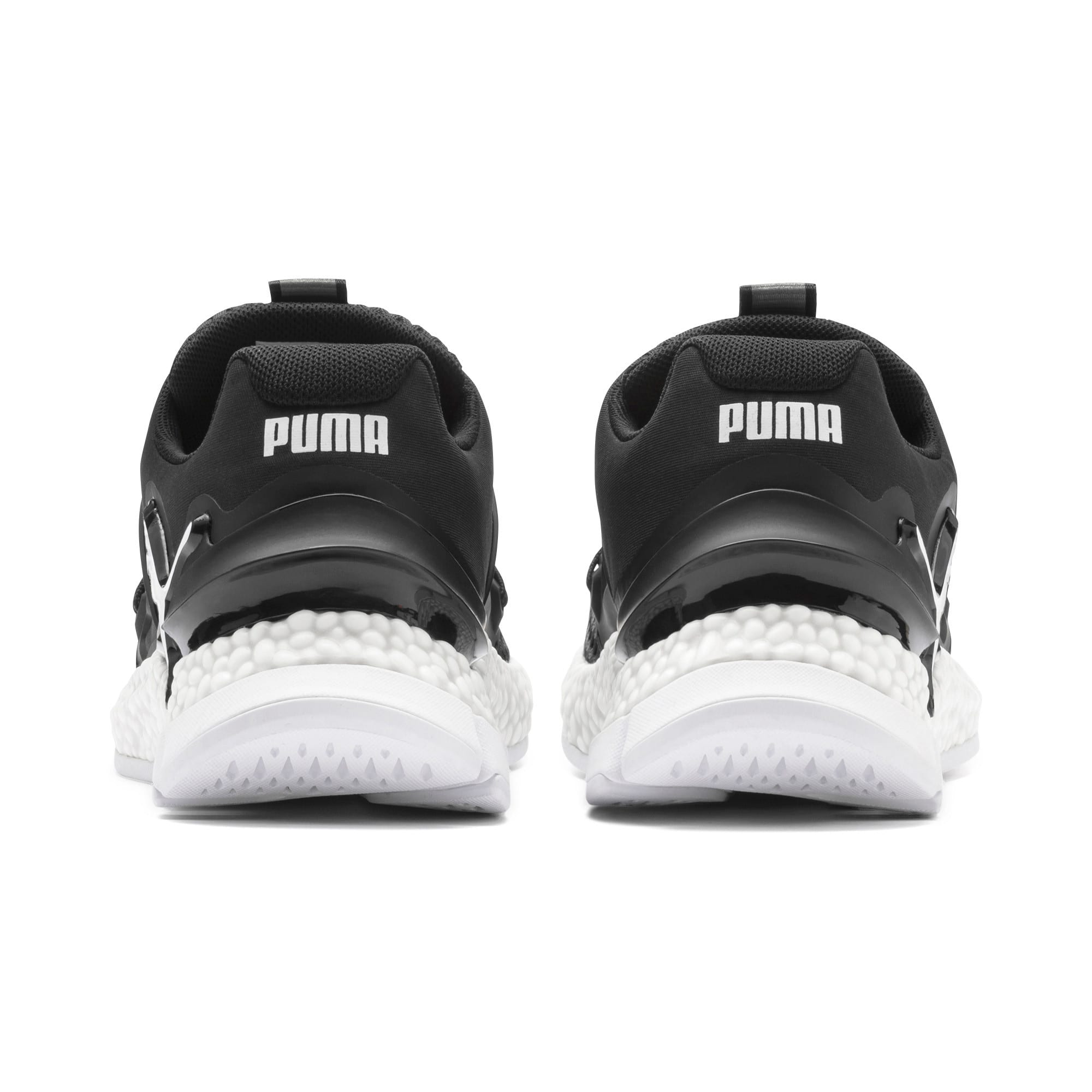 Thumbnail 4 of HYBRID Sky Women's Running Shoes, Puma Black-Puma White, medium