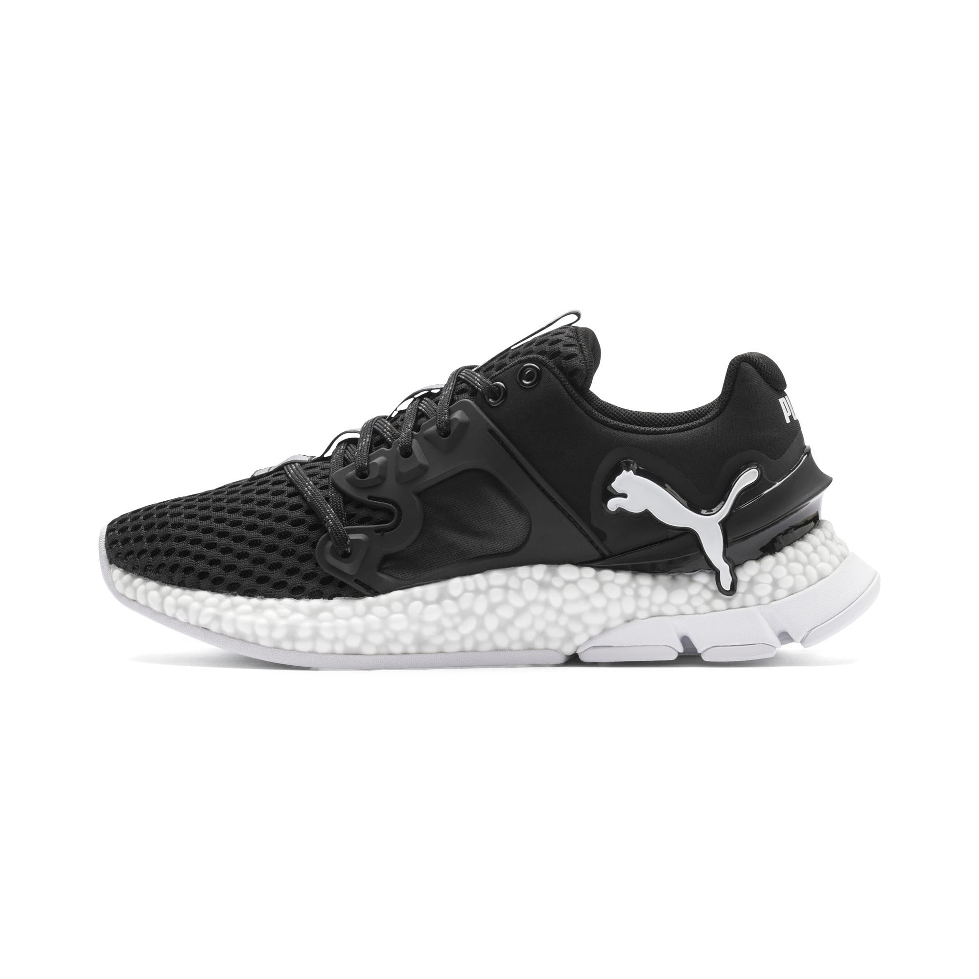 Thumbnail 1 of HYBRID Sky Women's Running Shoes, Puma Black-Puma White, medium