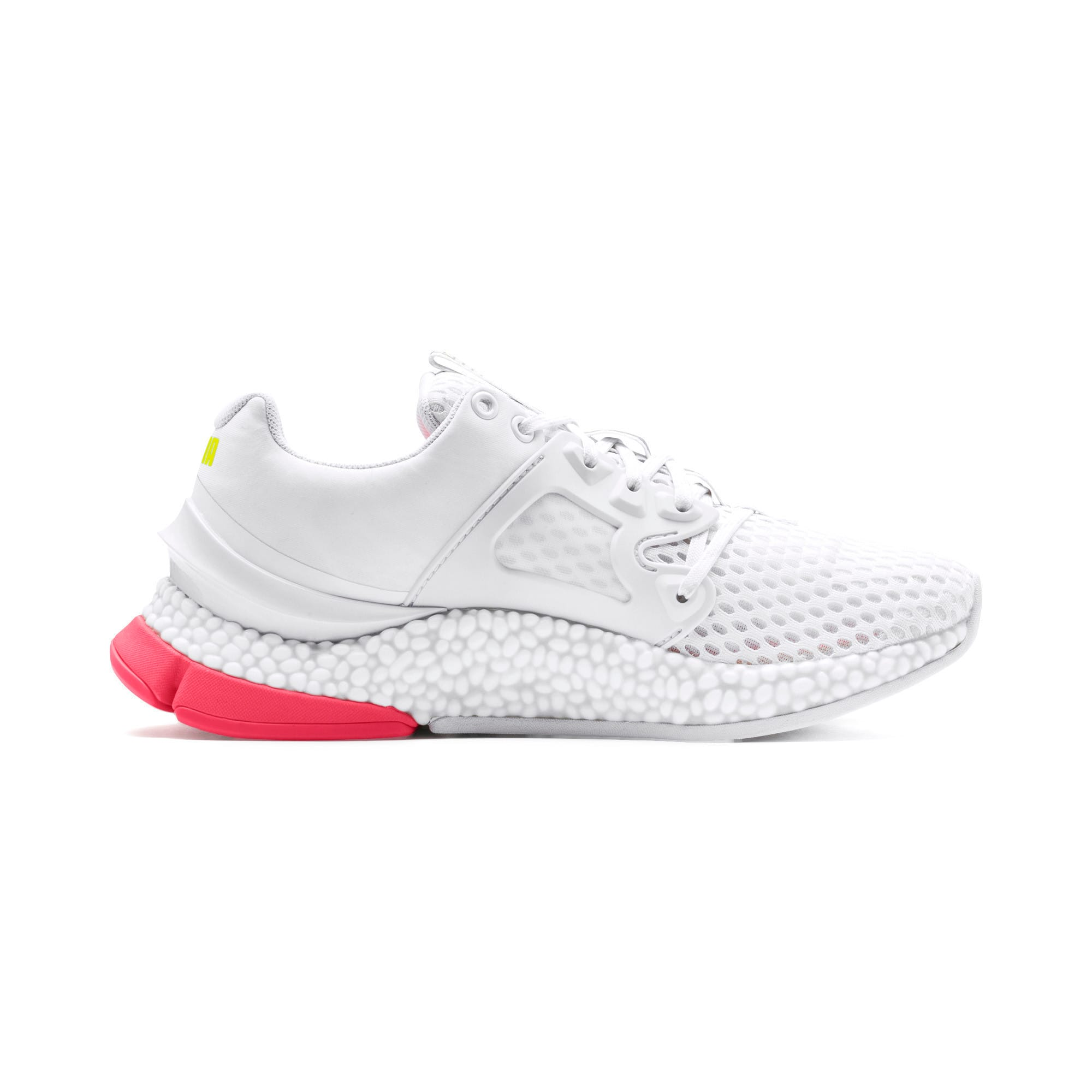 Thumbnail 5 of HYBRID Sky Women's Running Shoes, Wh-Pink Alert-Yellow Alert, medium-IND