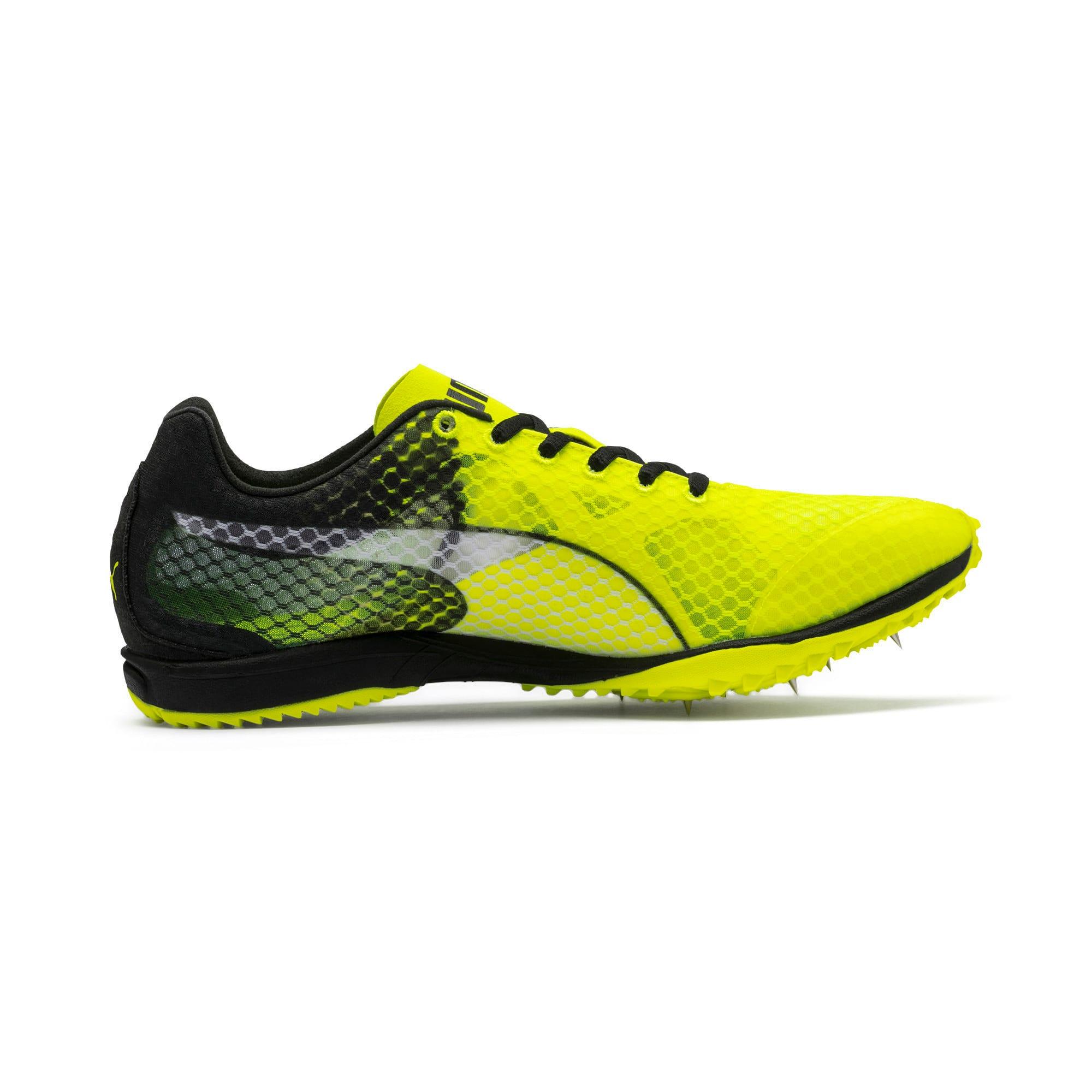 Thumbnail 5 of evoSPEED Haraka 6 Track and Field Boots, Yellow Alert-Black-White, medium-IND