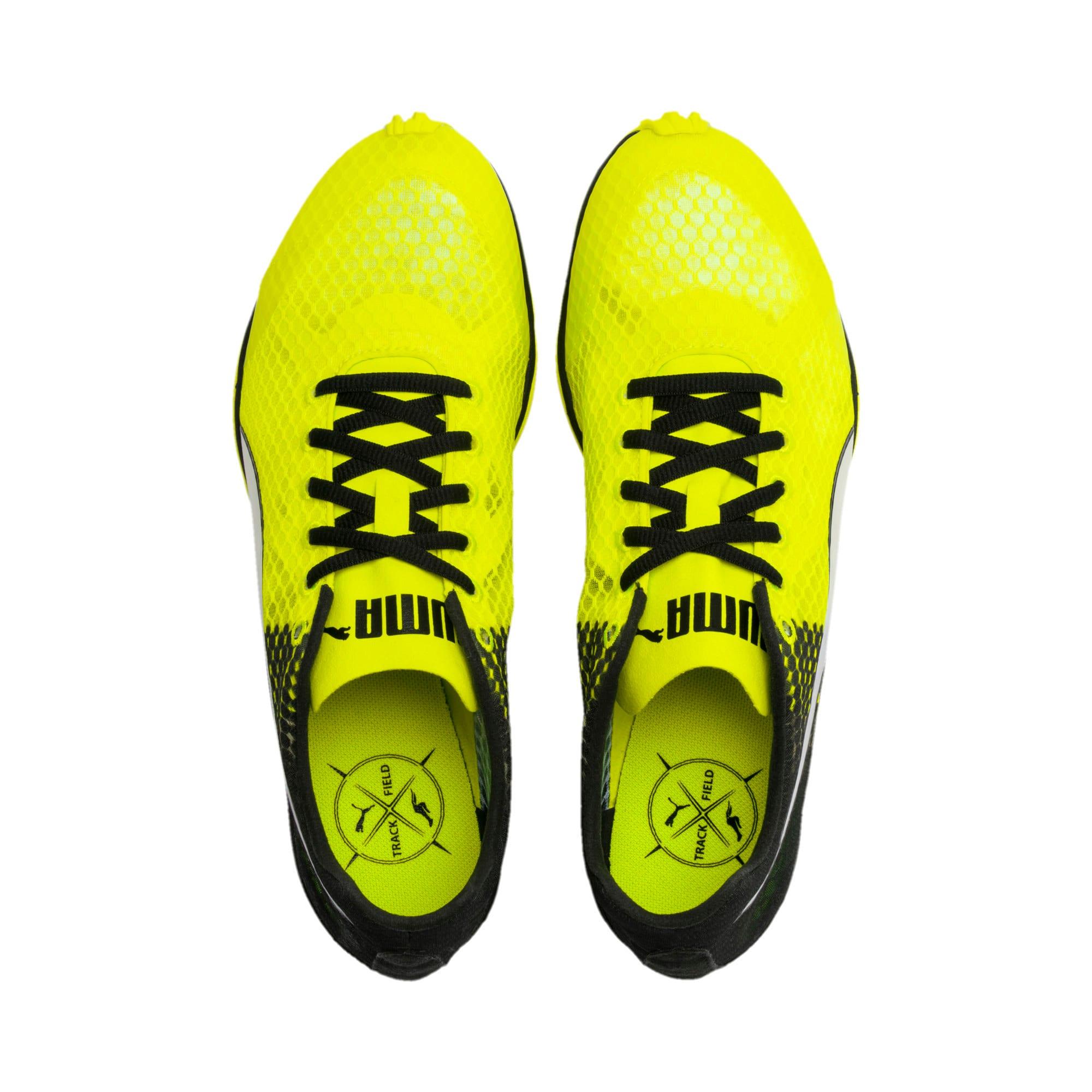 Thumbnail 2 of evoSPEED Haraka 6 Track and Field Boots, Yellow Alert-Black-White, medium-IND