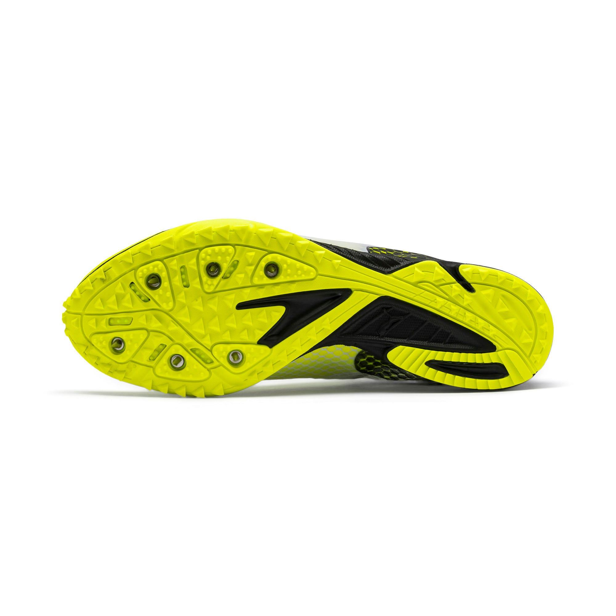 Thumbnail 7 of evoSPEED Haraka 6 Track and Field Boots, Yellow Alert-Black-White, medium-IND