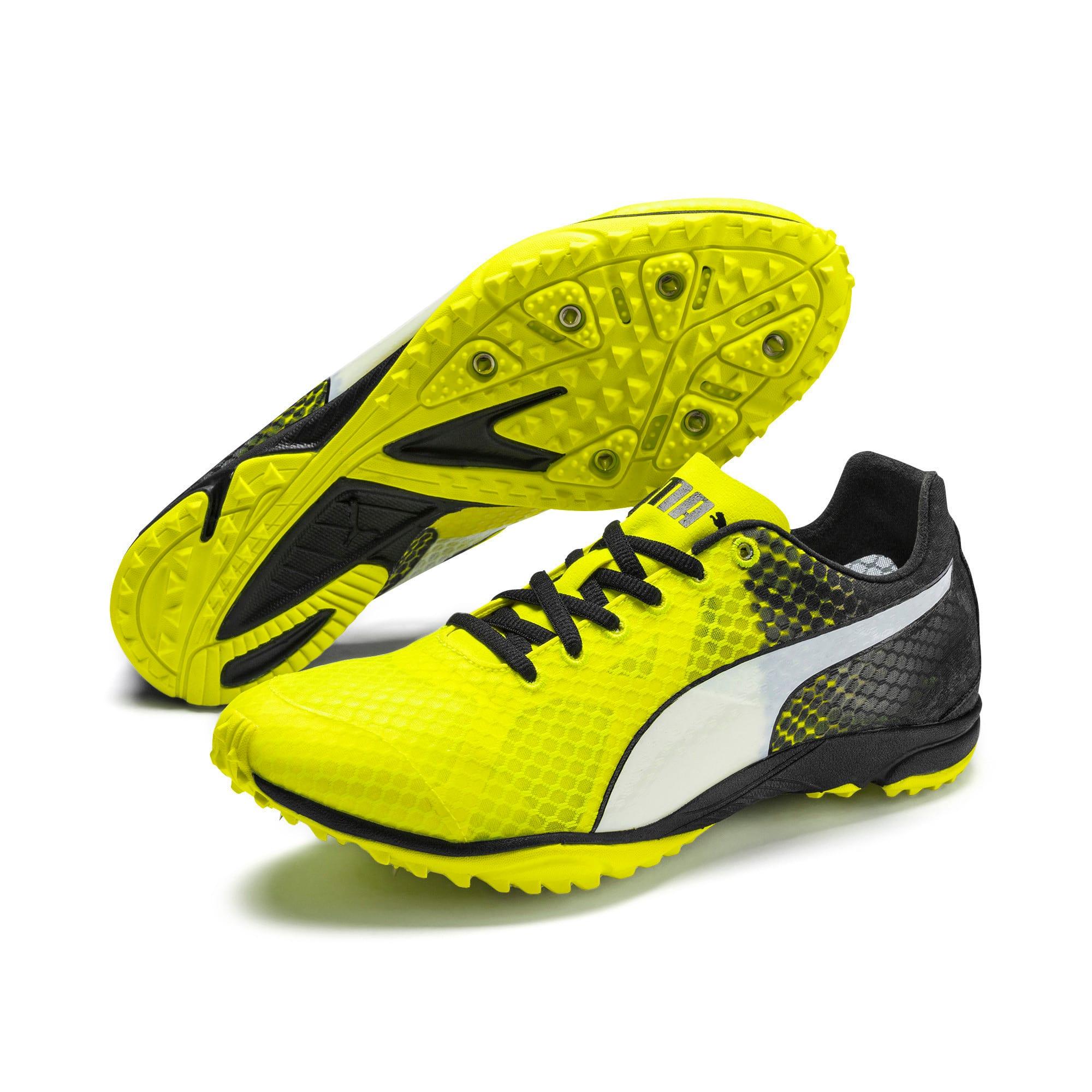 Thumbnail 8 of evoSPEED Haraka 6 Track and Field Boots, Yellow Alert-Black-White, medium-IND