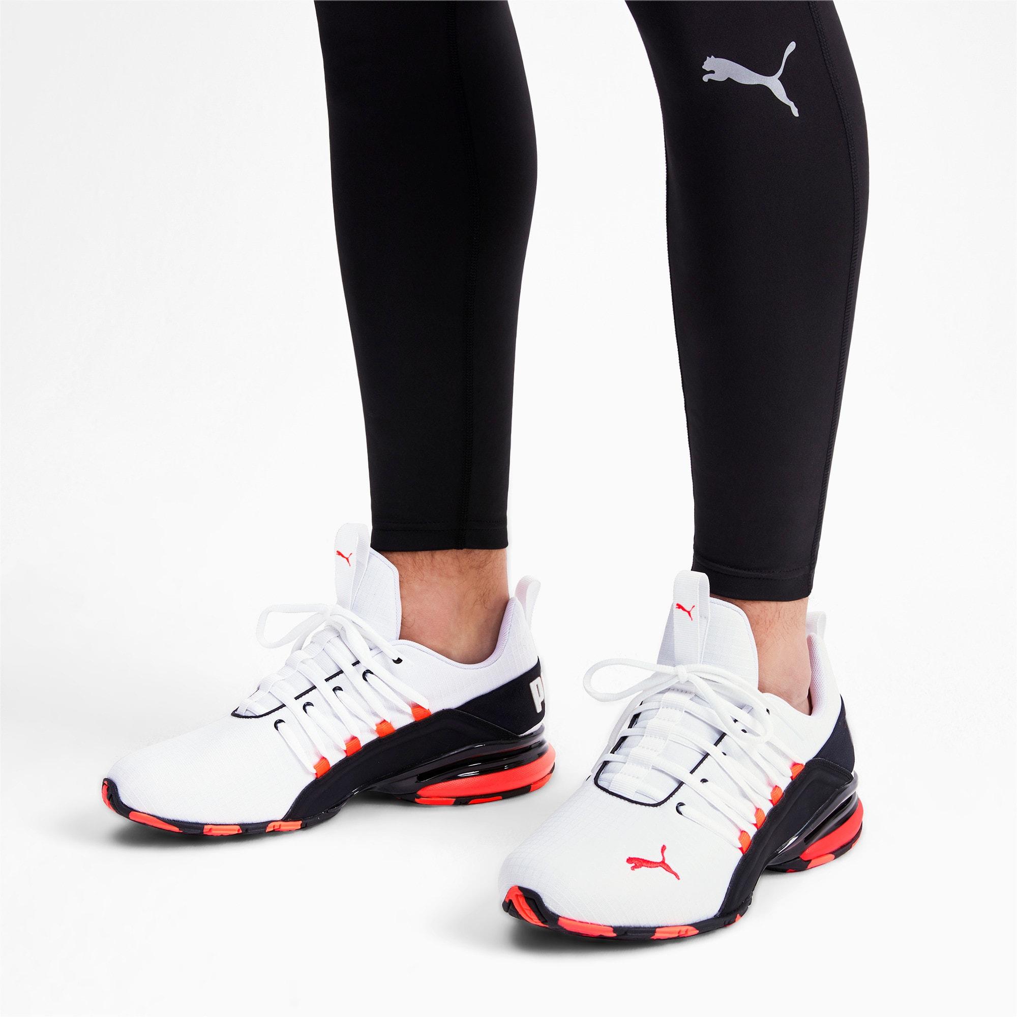 Thumbnail 3 of Axelion Rip Men's Training Shoes, White-Black-Nrgy Red, medium