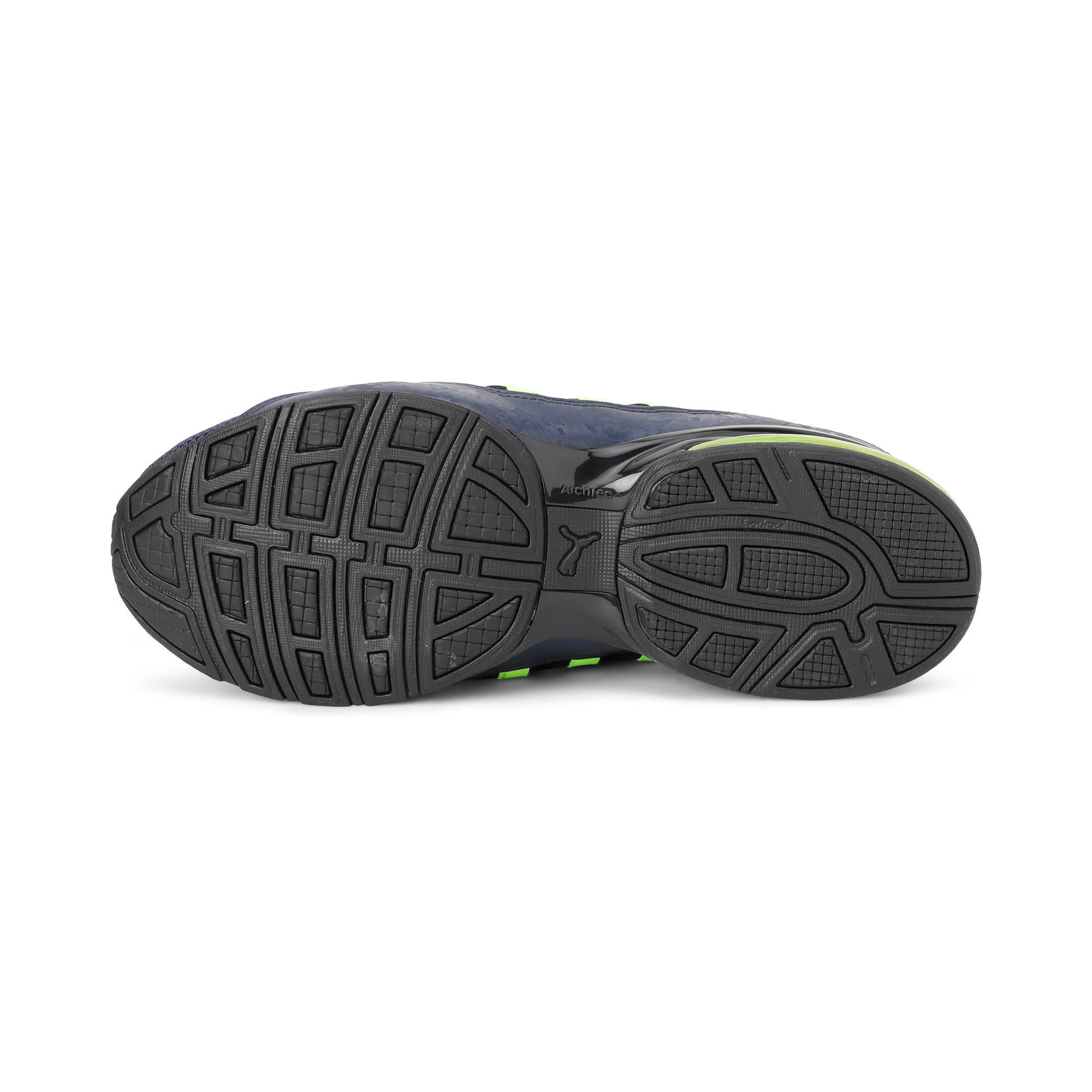 Thumbnail 6 of Cell Regulate Camo Men's Running Shoes, Peacoat-Yellow Alert, medium-IND