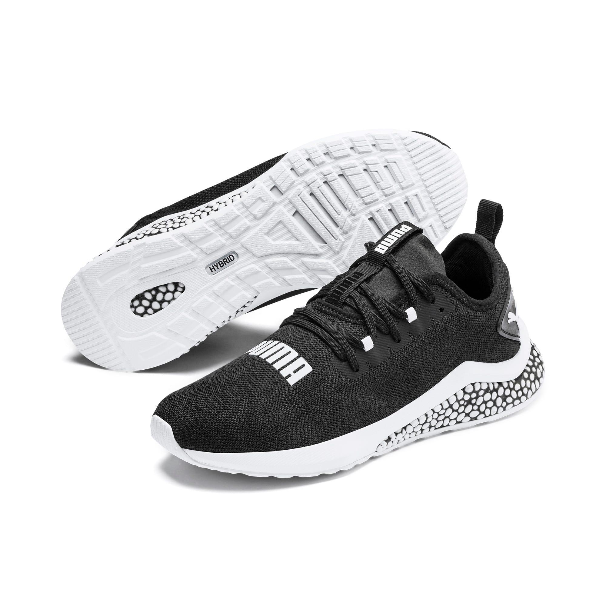 Thumbnail 2 of HYBRID NX Camo Men's Running Shoes, Puma Black-Puma White, medium