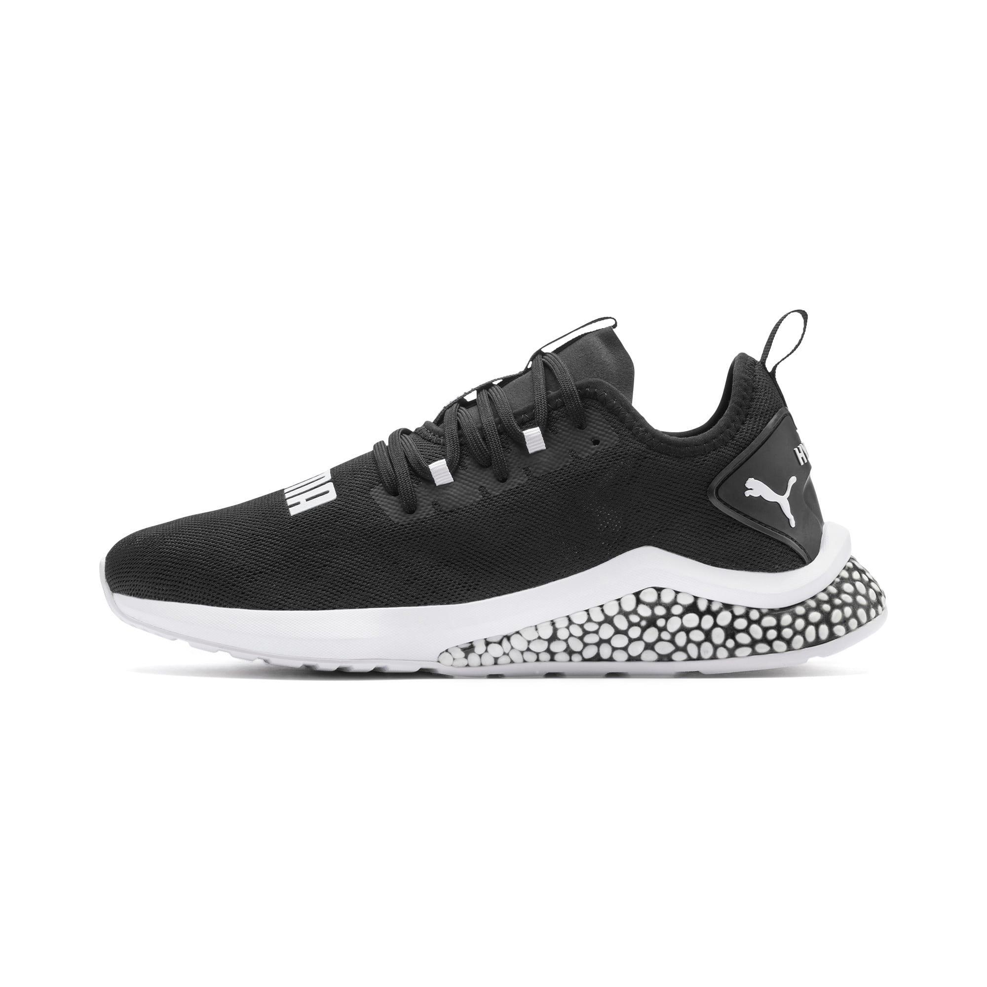Thumbnail 1 of HYBRID NX Camo Men's Running Shoes, Puma Black-Puma White, medium